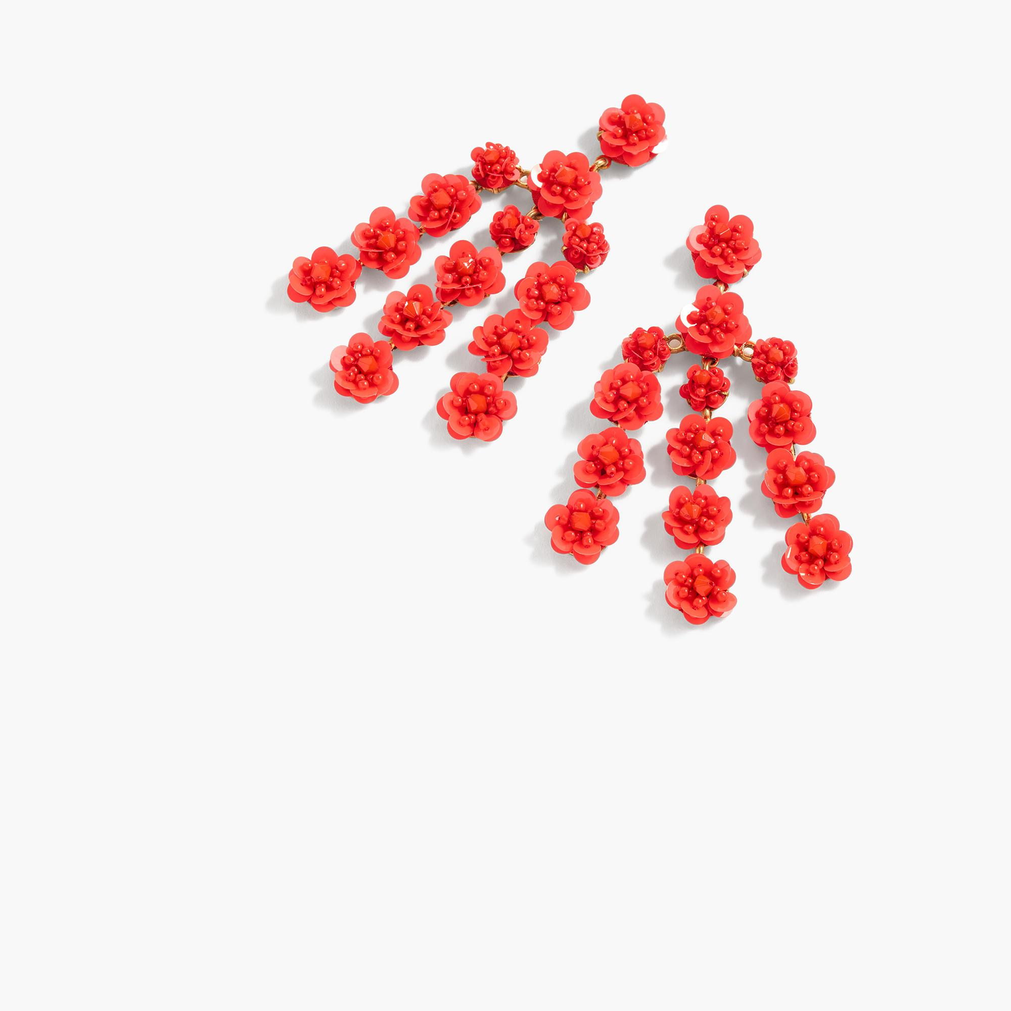 5c121fc89ae J Crew Red Sequin Earrings - Best All Earring Photos Kamilmaciol.Com