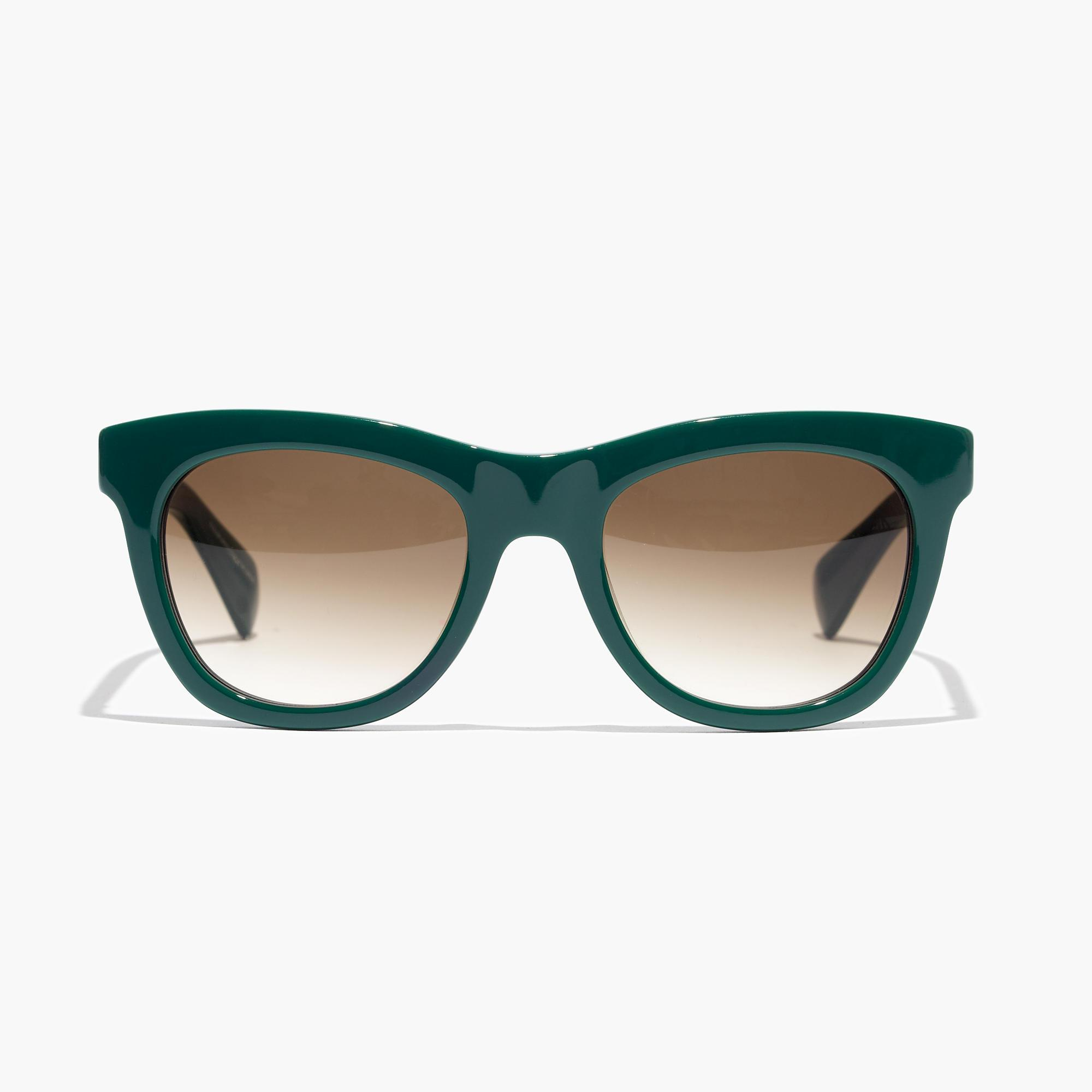 13a7770ec2 J.Crew Betty Sunglasses in Green - Lyst