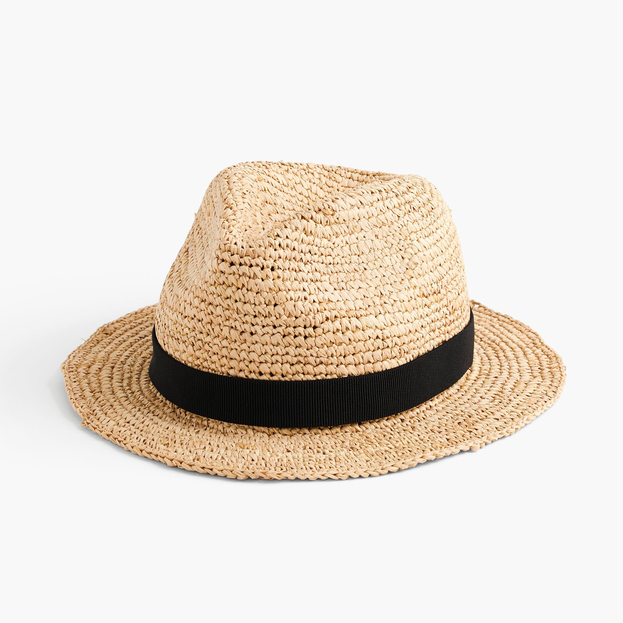 j crew packable straw hat in straw lyst