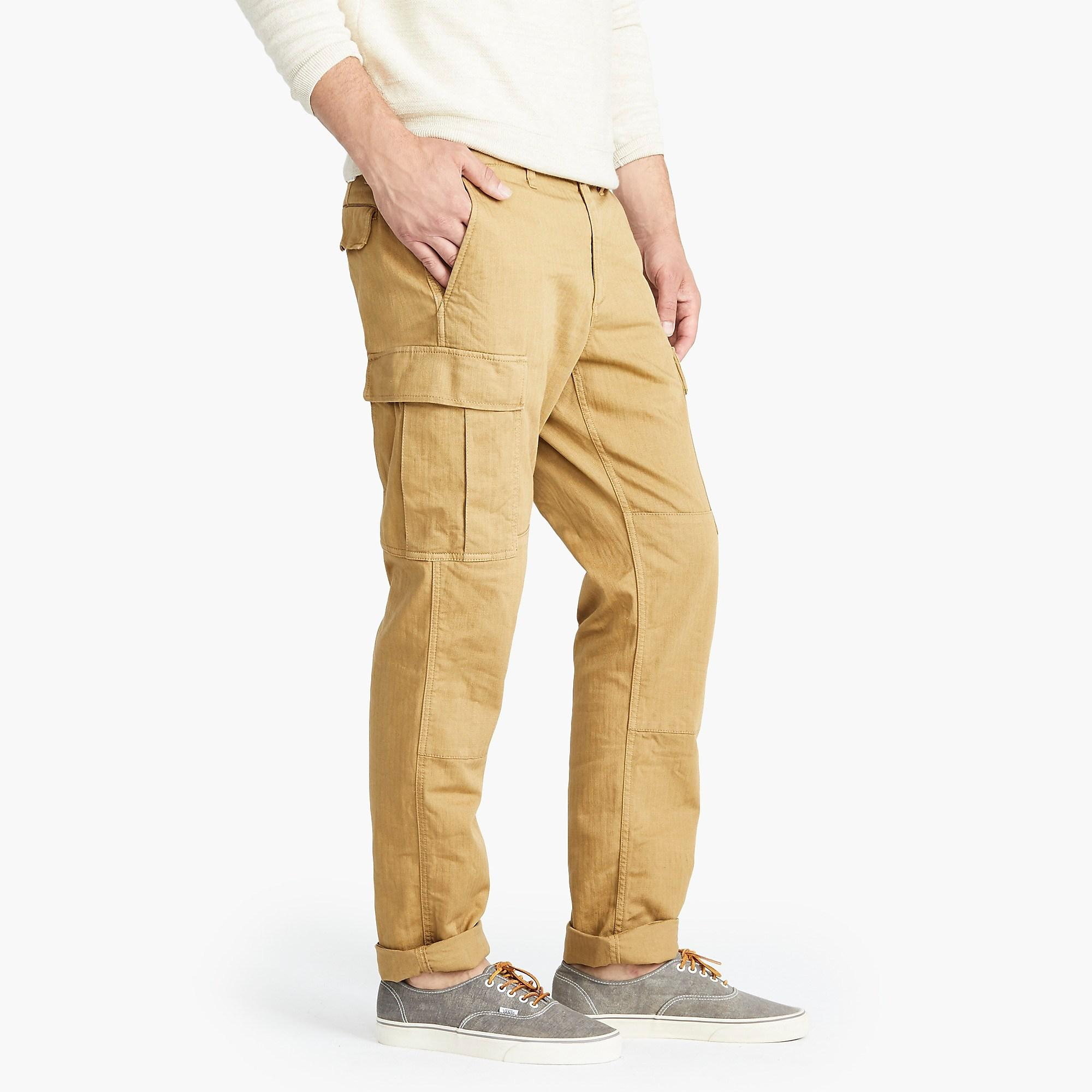 04e5bd44f5b323 J.Crew - Brown 770 Straight-fit Stretch Cargo Pant In Garment-dyed. View  fullscreen