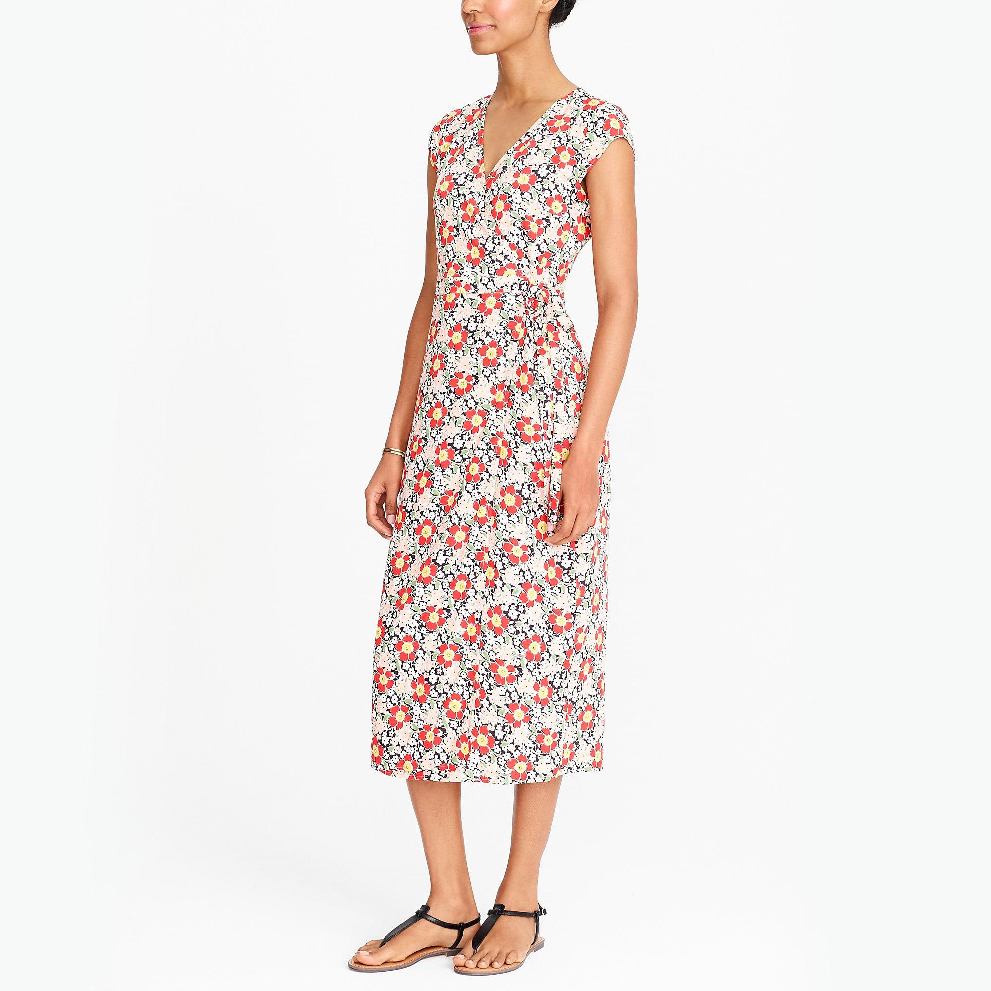 810f5b25c Gallery. Previously sold at: J.Crew Factory · Women's Wrap Dresses