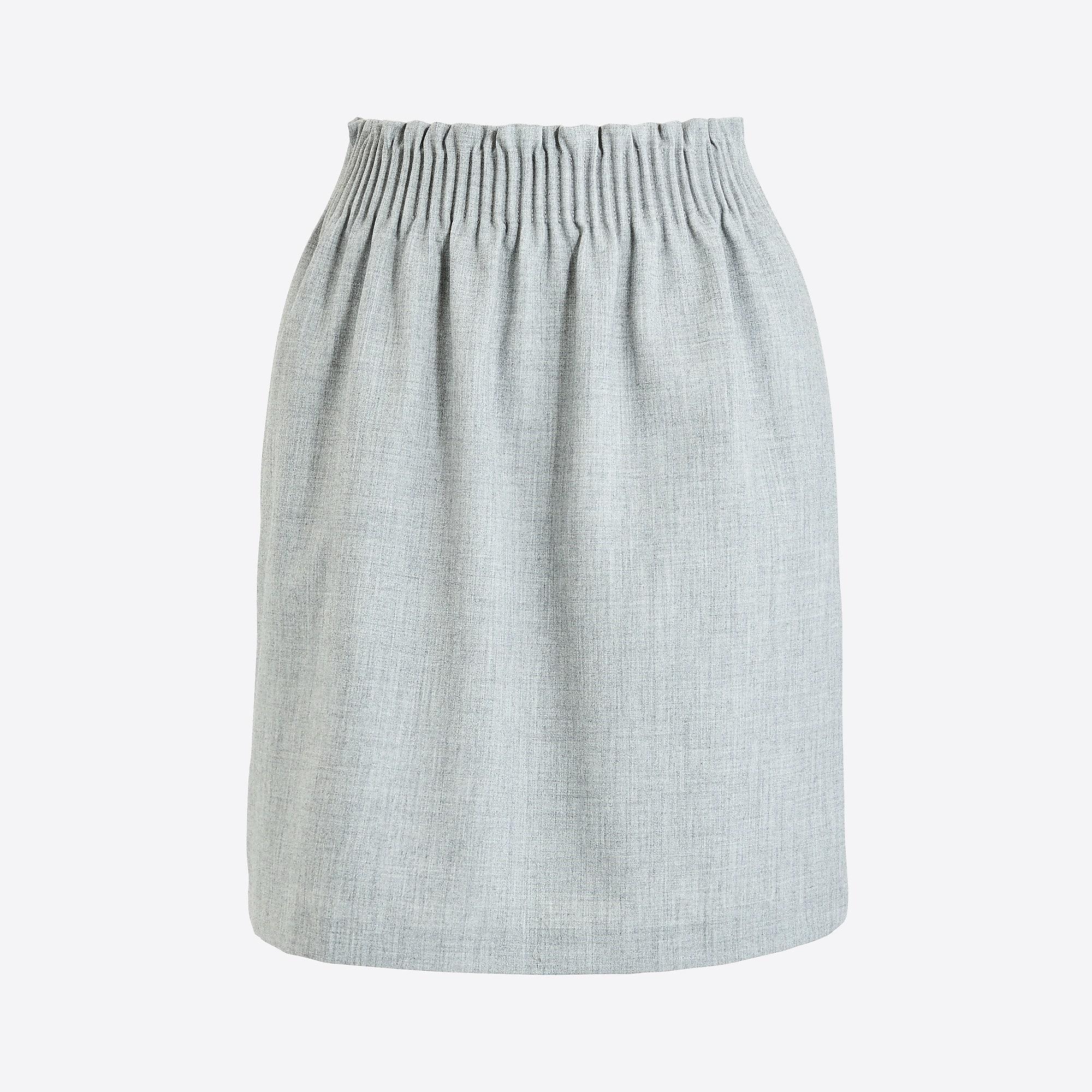 87547edcf Lyst - J.Crew Sidewalk Skirt in Gray