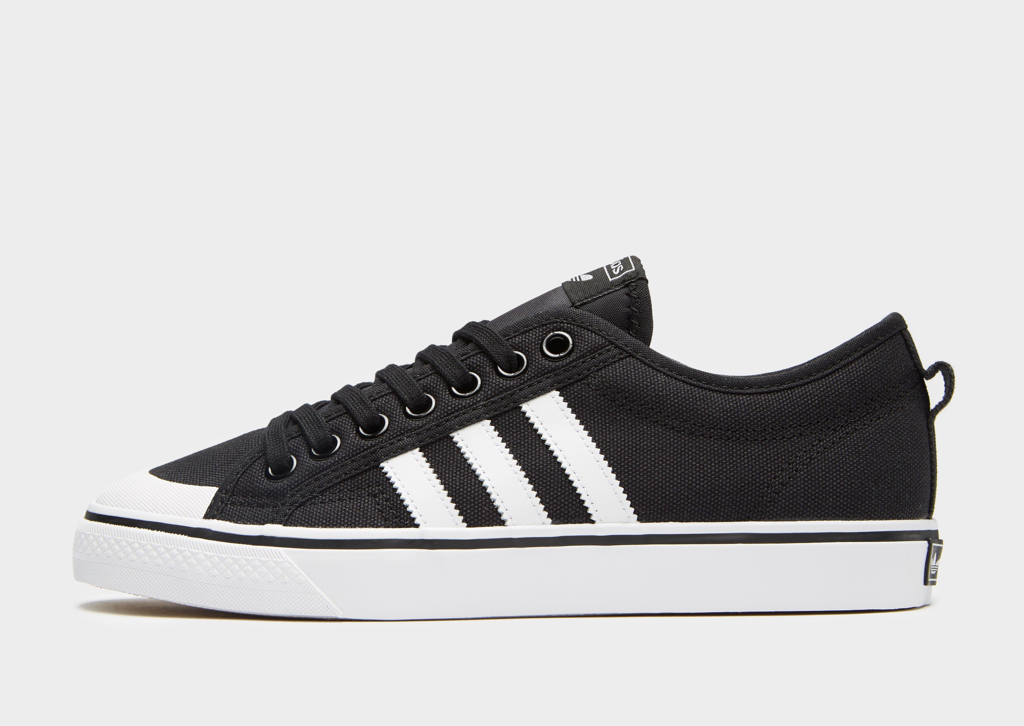 44ca36ad0506ac Adidas Originals Nizza Lo in Black for Men - Lyst