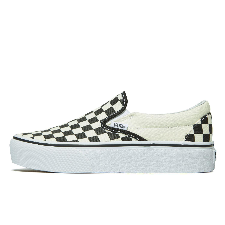 ac96fddfcb3f1e Lyst - Vans Slip-on Platform Slip-ons (shoes) in White - Save 6%