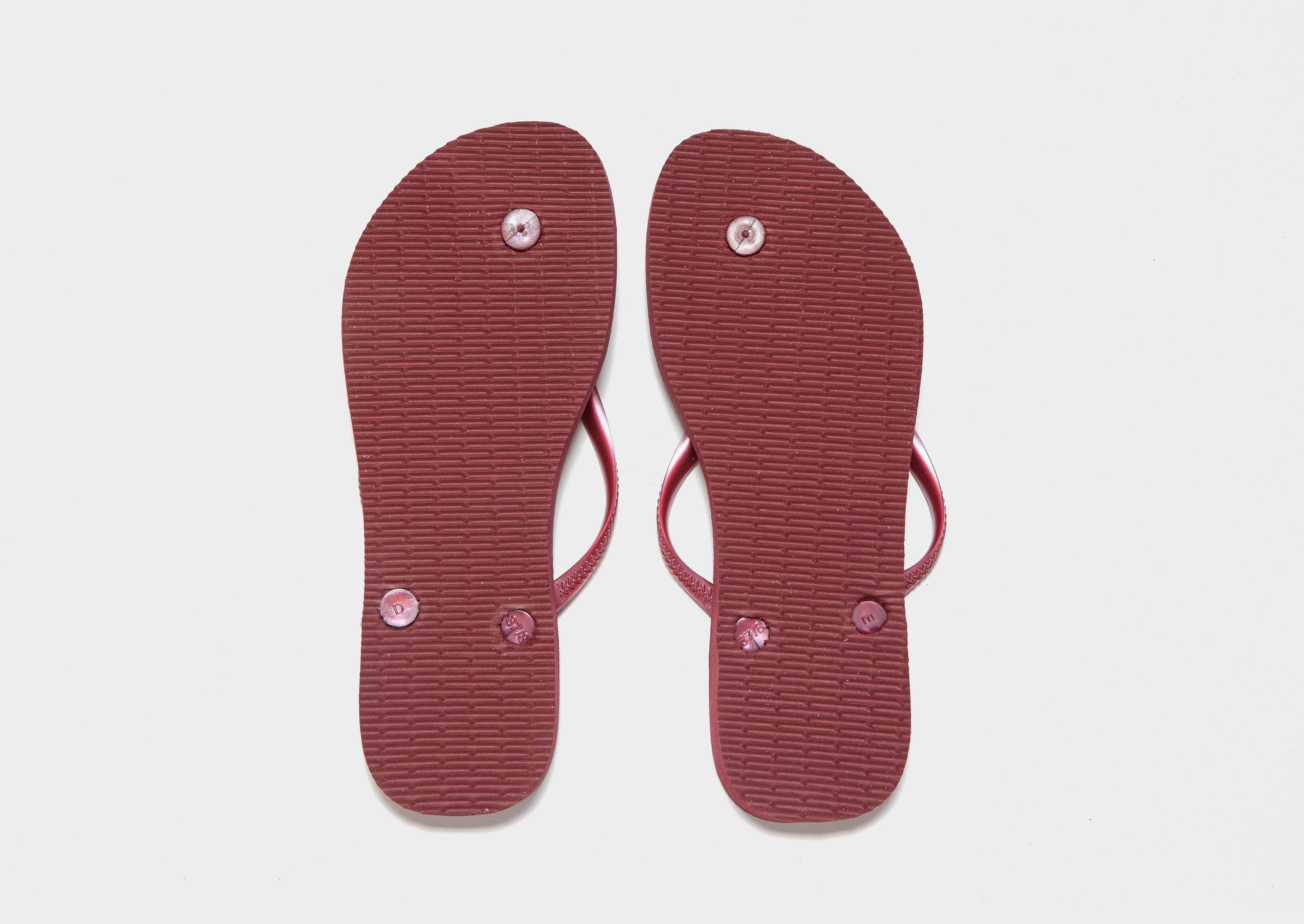 0a02740b9 Havaianas Slim Flip Flops in Pink - Lyst