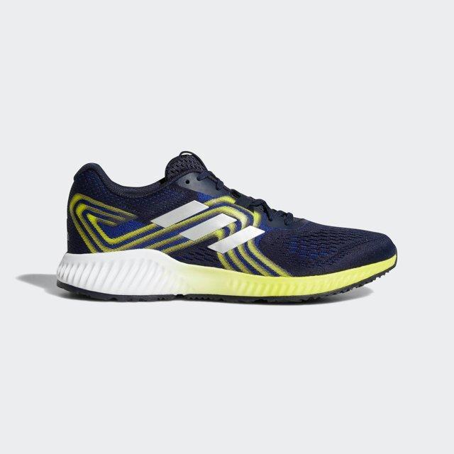 half off ea31e 3b995 adidas. Mens Blue Aerobounce 2 Shoes
