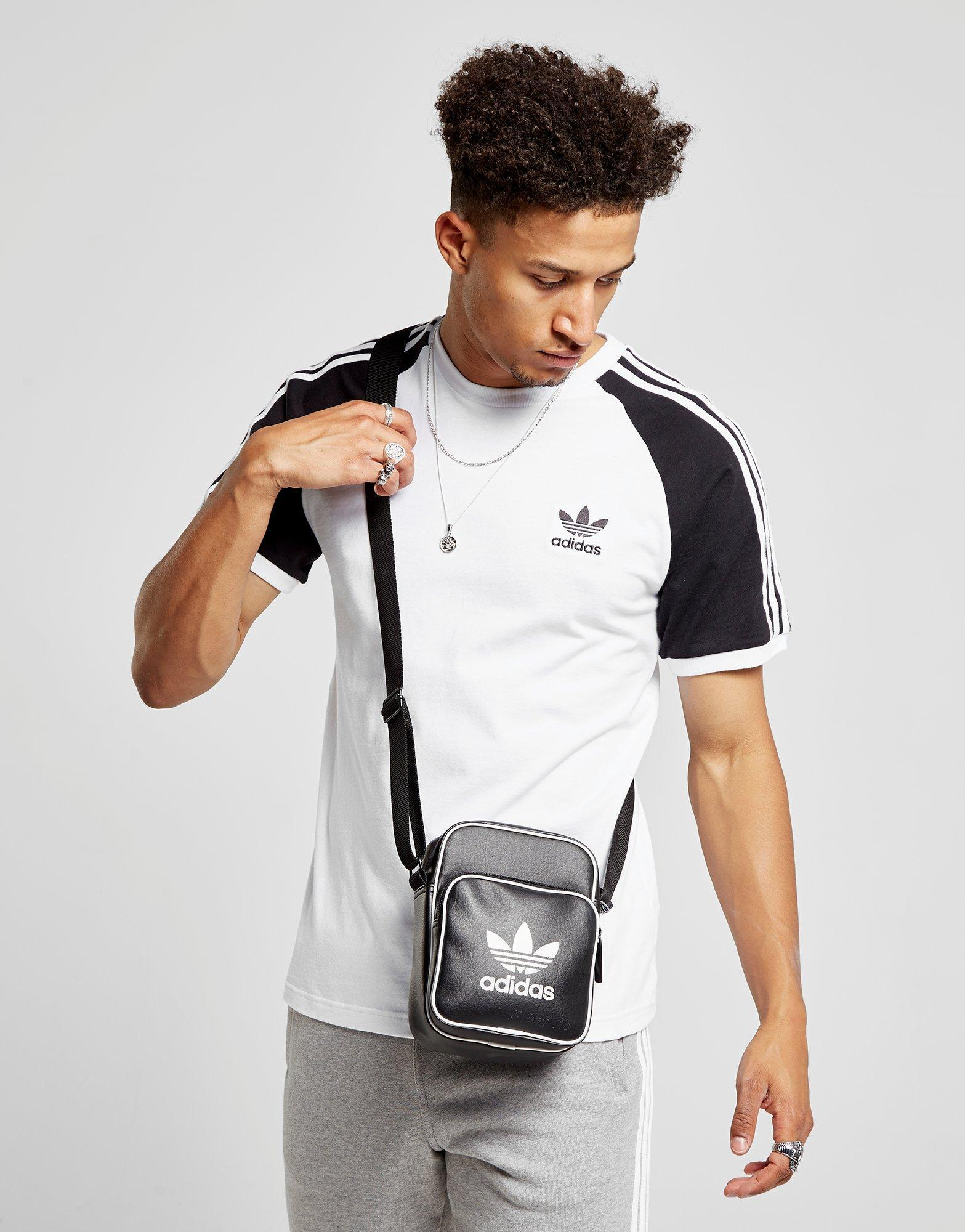 a743069b4e Lyst - adidas Originals Classic Mini Bag in Black for Men