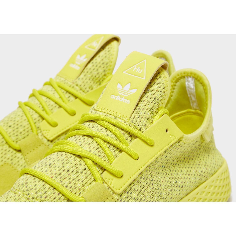 49621c717 Lyst - adidas Originals X Pharrell Williams Tennis Hu V2 in Yellow for Men
