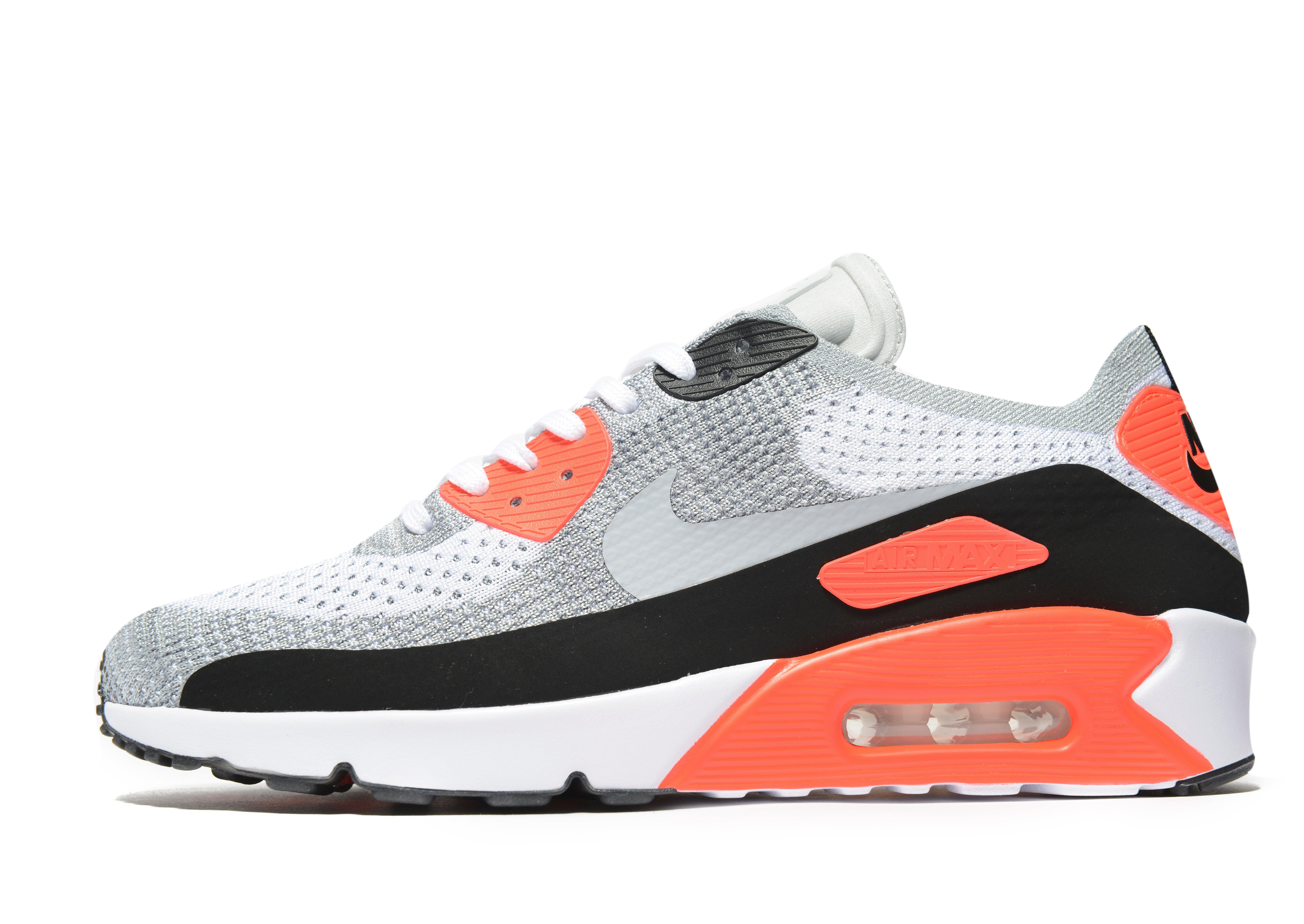 official photos 652c2 cfbe2 Lyst - Nike Air Max 90 Ultra 2.0 Flyknit in White for Men