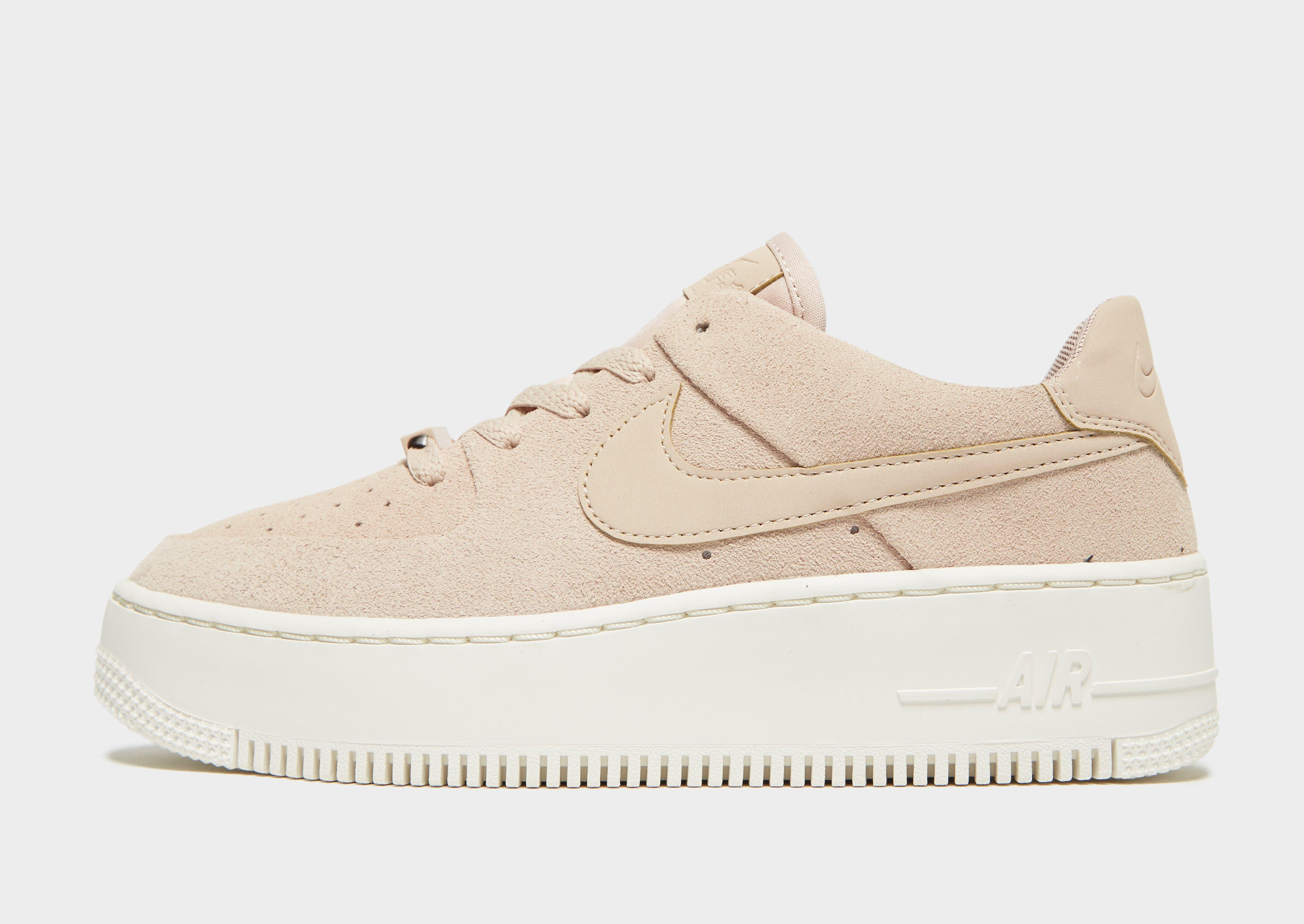 Lyst - Nike Air Force 1 Sage Low in Natural 8bf01f9ed8