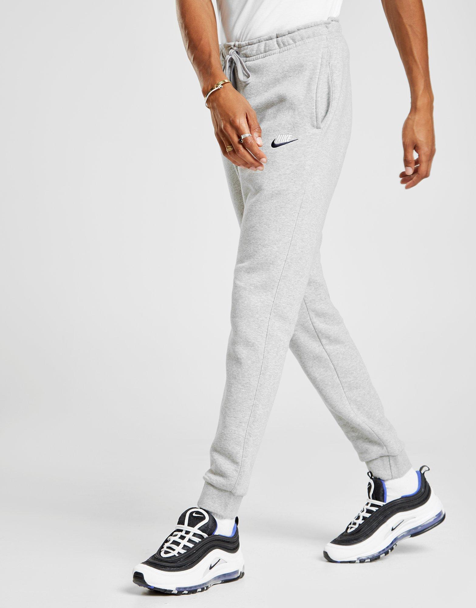 abb0bcec74cb3 Nike Foundation Fleece Track Pants in Gray for Men - Lyst