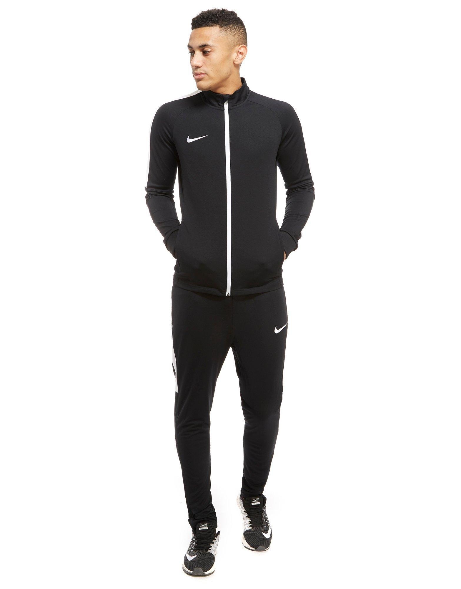 Nike Academy Poly Tracksuit in Black for Men