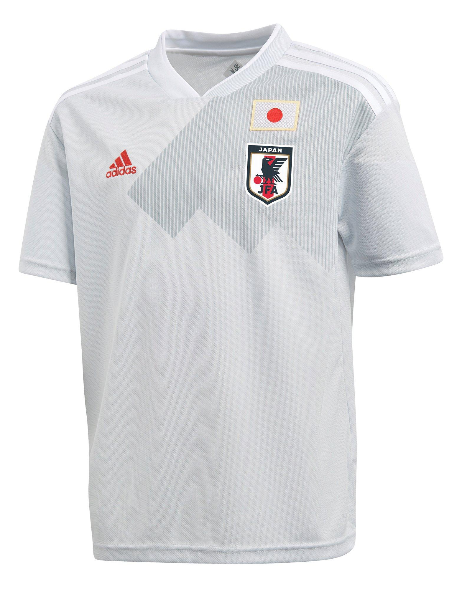 1054d68281a Adidas Japan 2018 Away Shirt In White For Men Lyst. Japan Away 2018 Fifa  World Cup Soccer Jersey