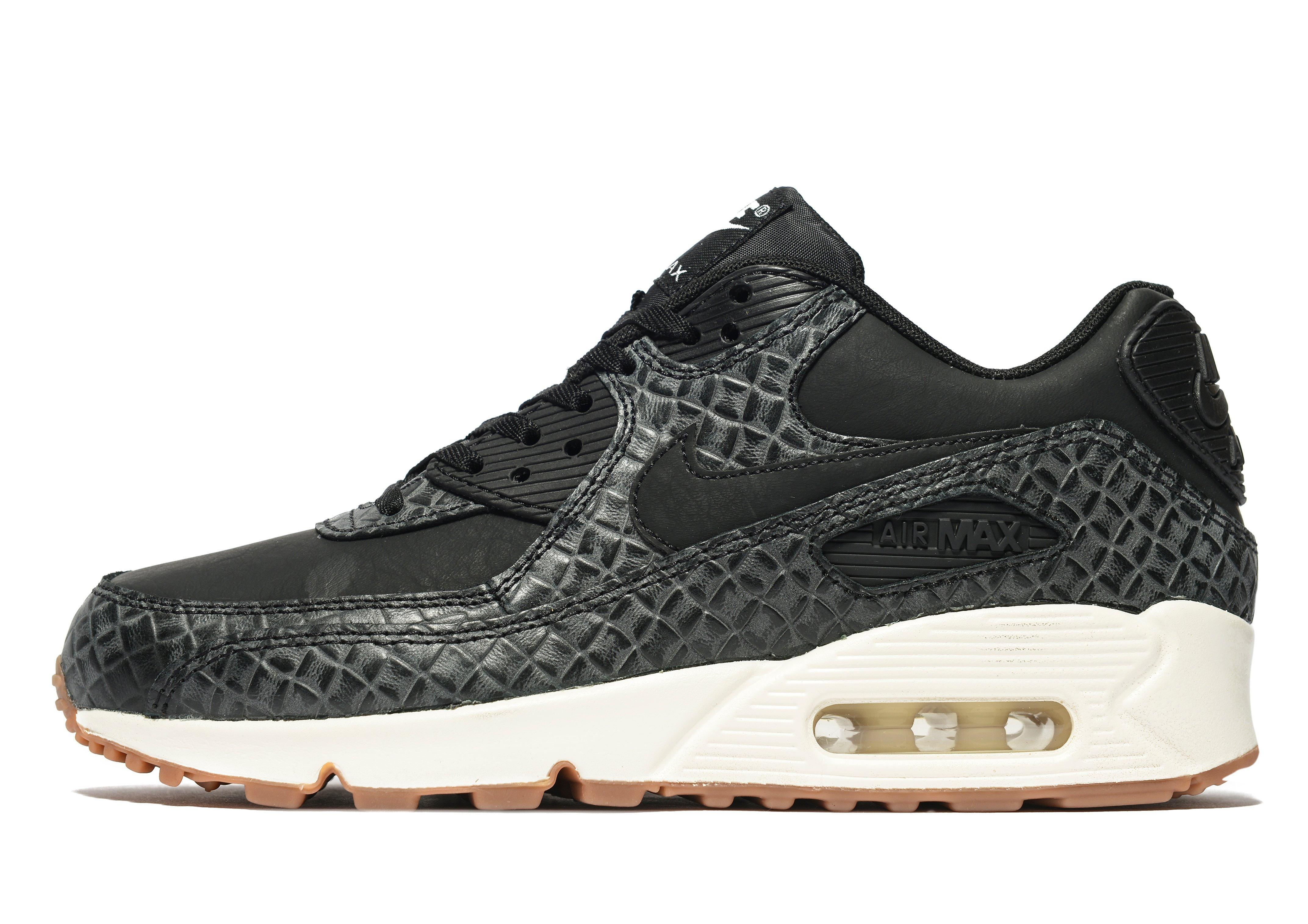 huge discount 8107d 3fab7 Nike Air Max 90 Premium in Black for Men - Lyst