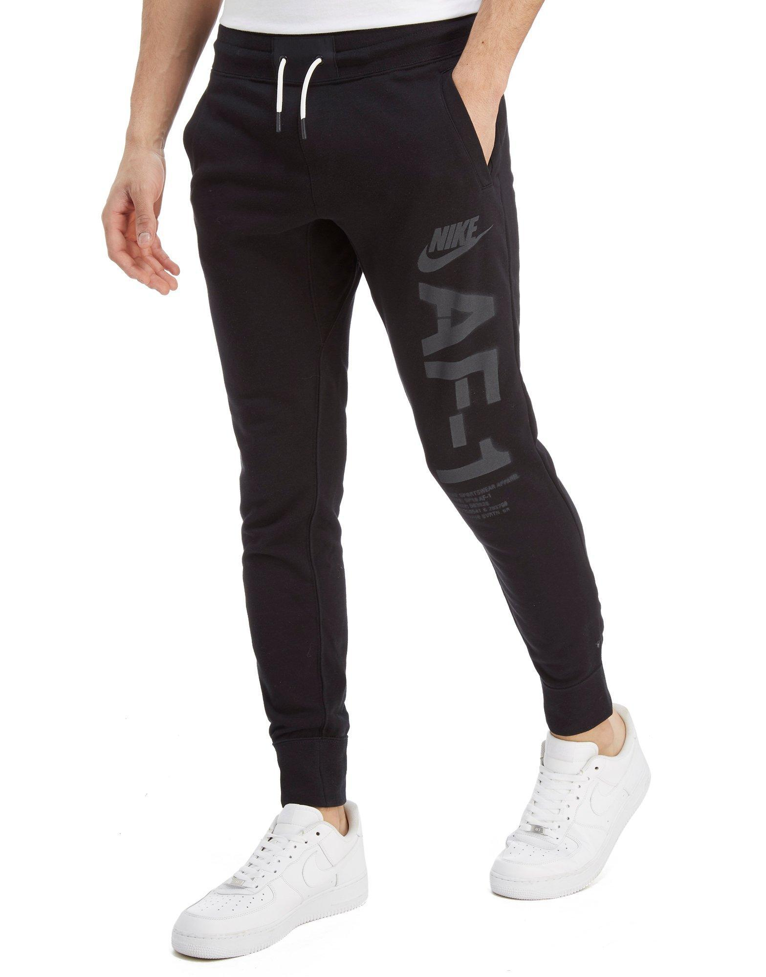 new concept 11c1b f2afa ... usa lyst nike air force 1 pants in black for men ae3b5 74c99