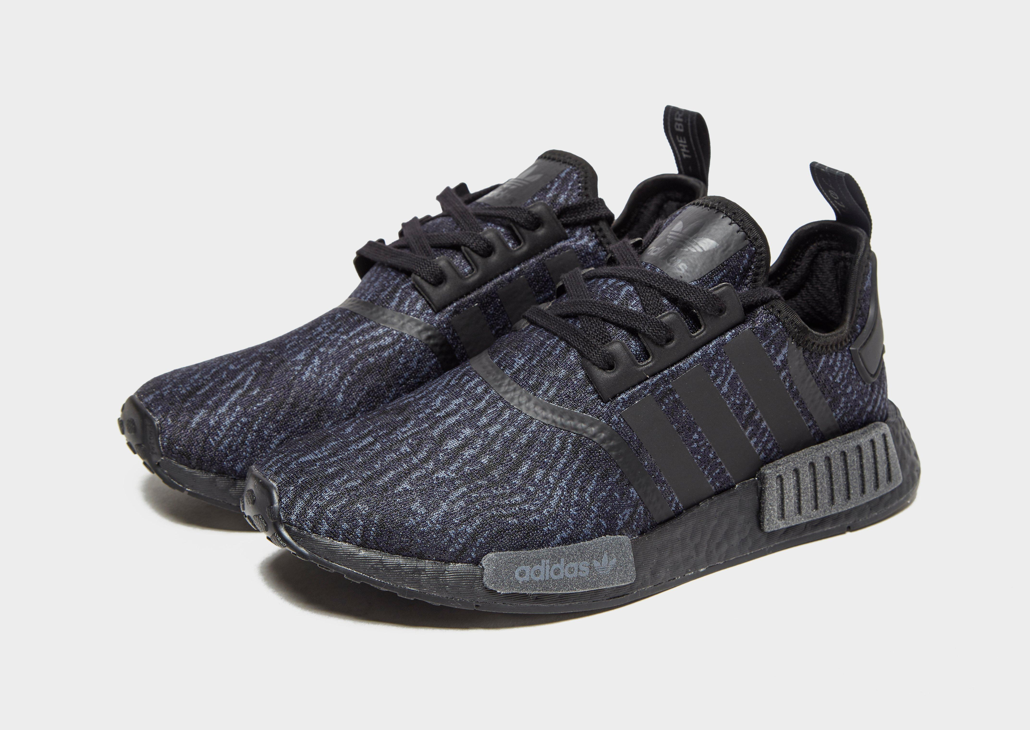 adidas Originals Nmd R1 in Black for Men - Lyst dfd4aad9a