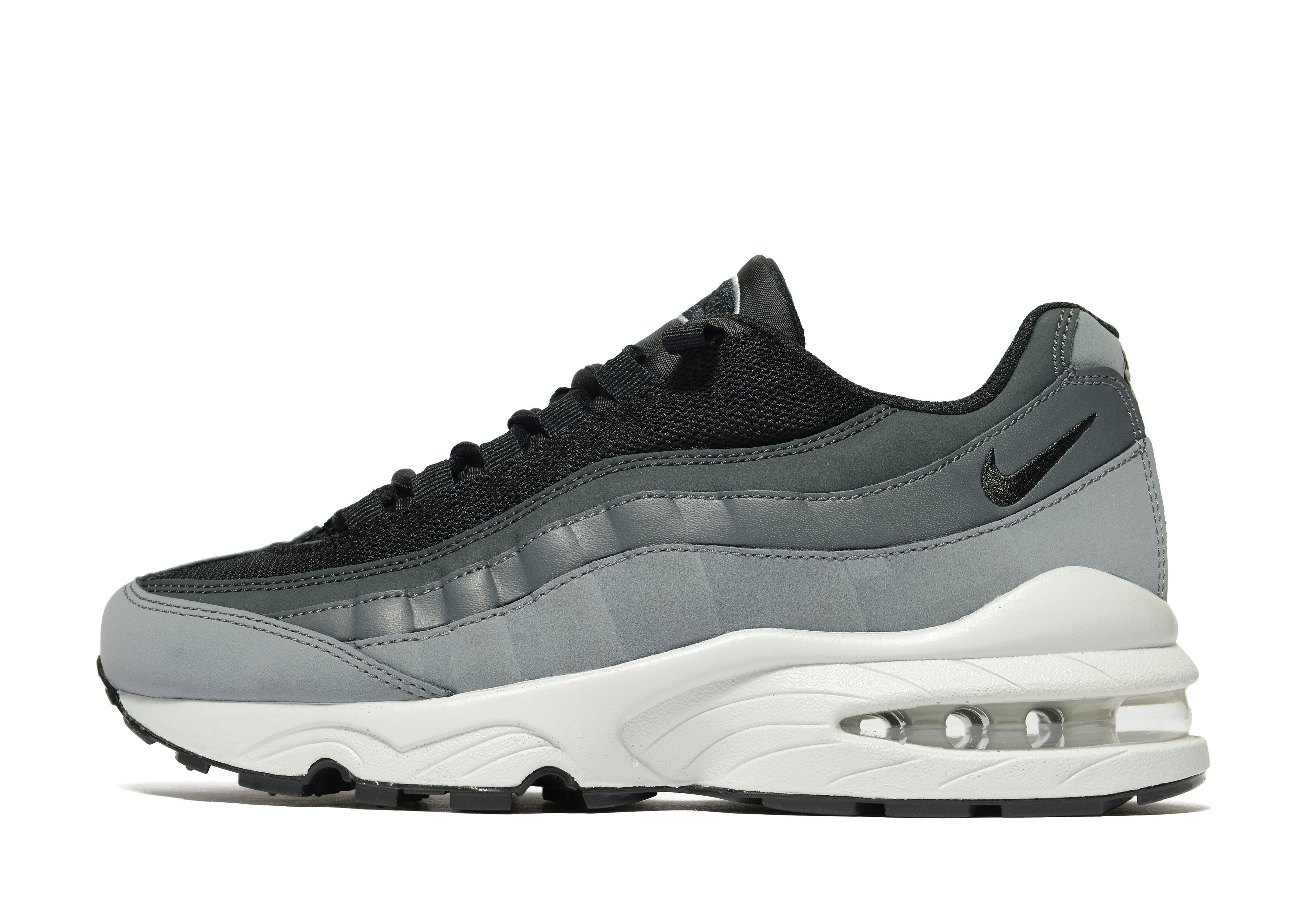 lyst nike air max 95 junior in black for men. Black Bedroom Furniture Sets. Home Design Ideas