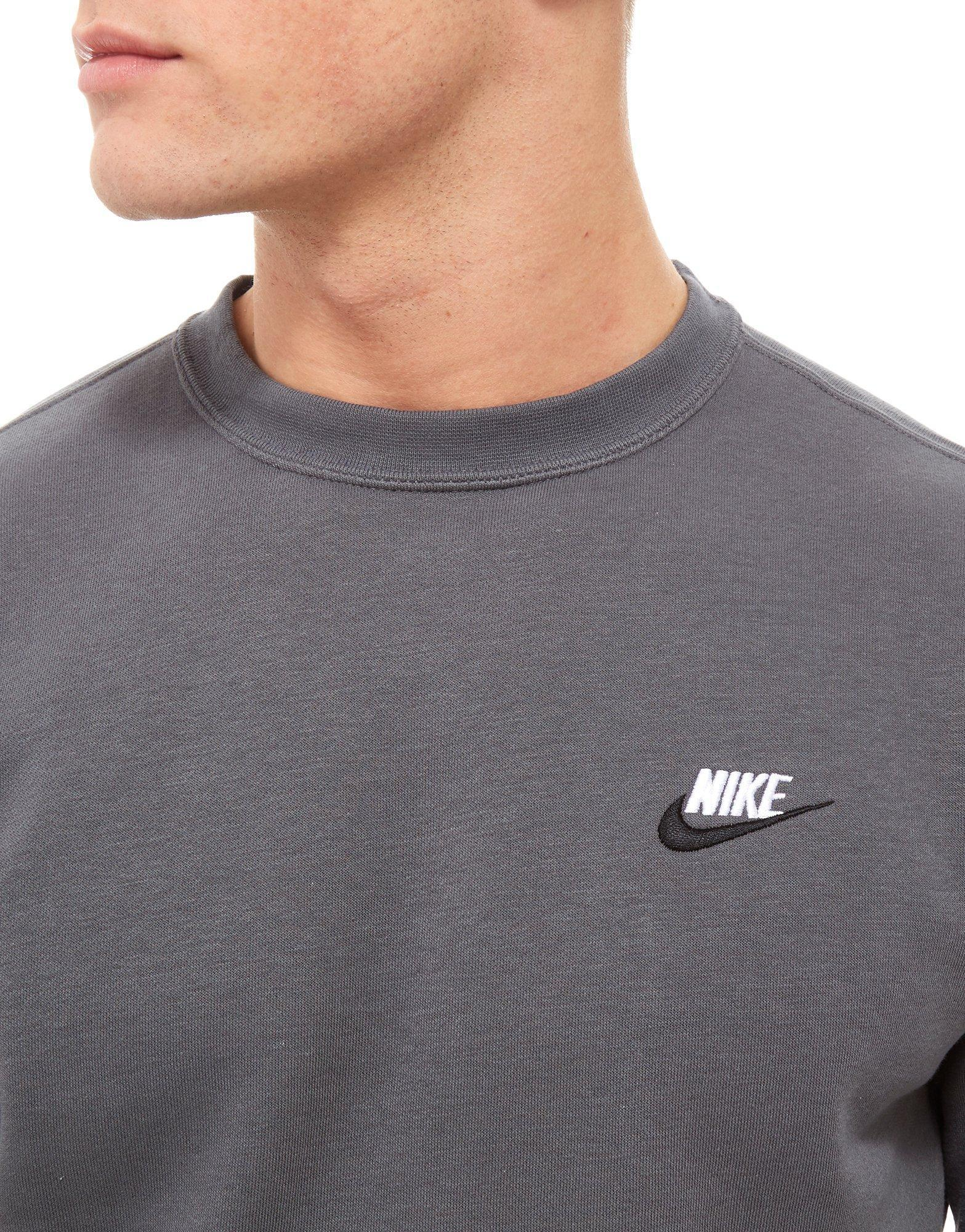 Tsqqyzfeg8 Gray Lyst Sweatshirt Men For Foundation Crew In Nike qApwf7