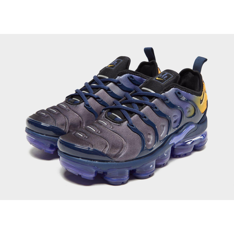 19f5536d50e1 Nike - Blue Air Vapormax Plus - Lyst. View fullscreen