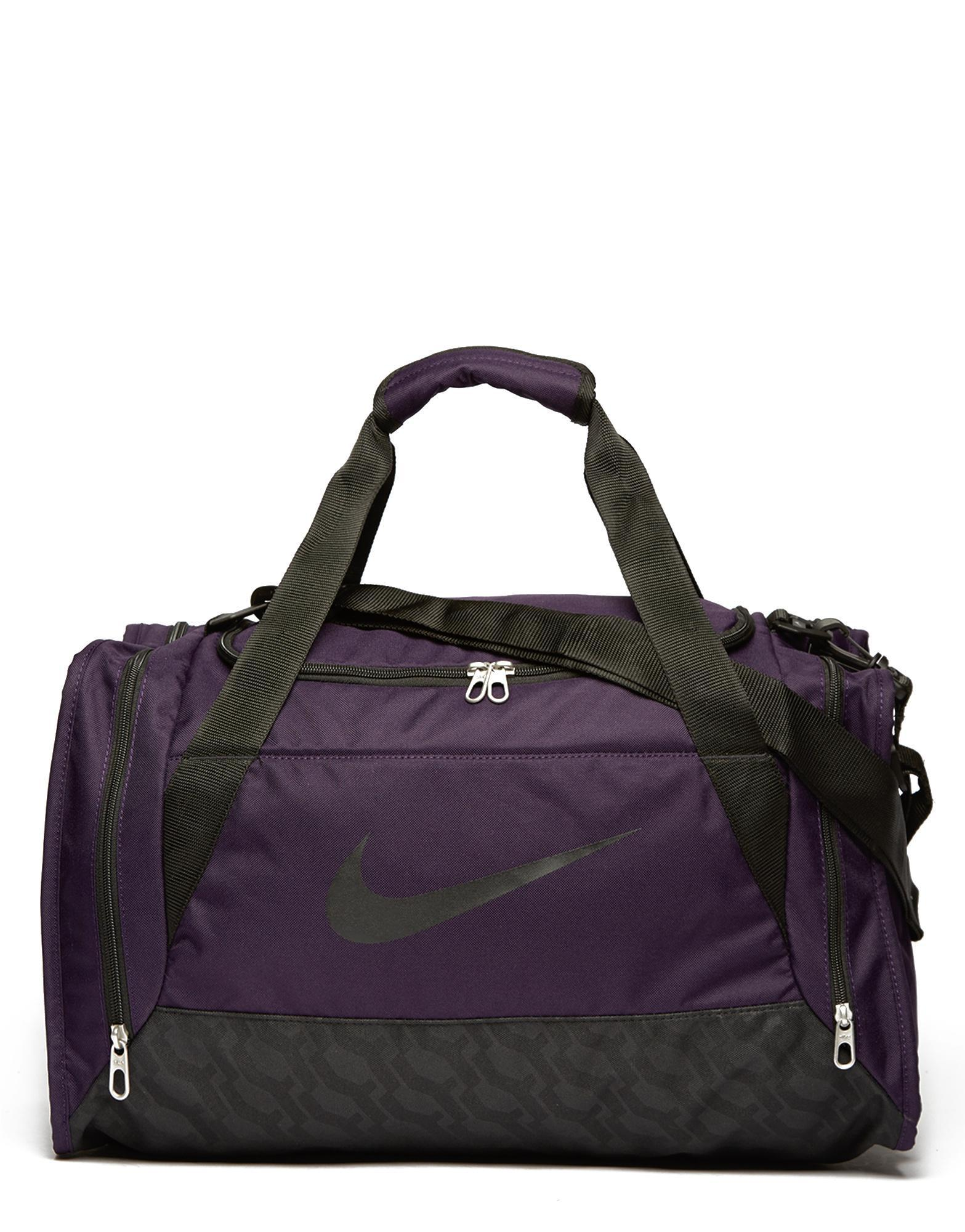 ecd6217333 Lyst - Nike Brasilia Small Duffle Bag in Purple for Men