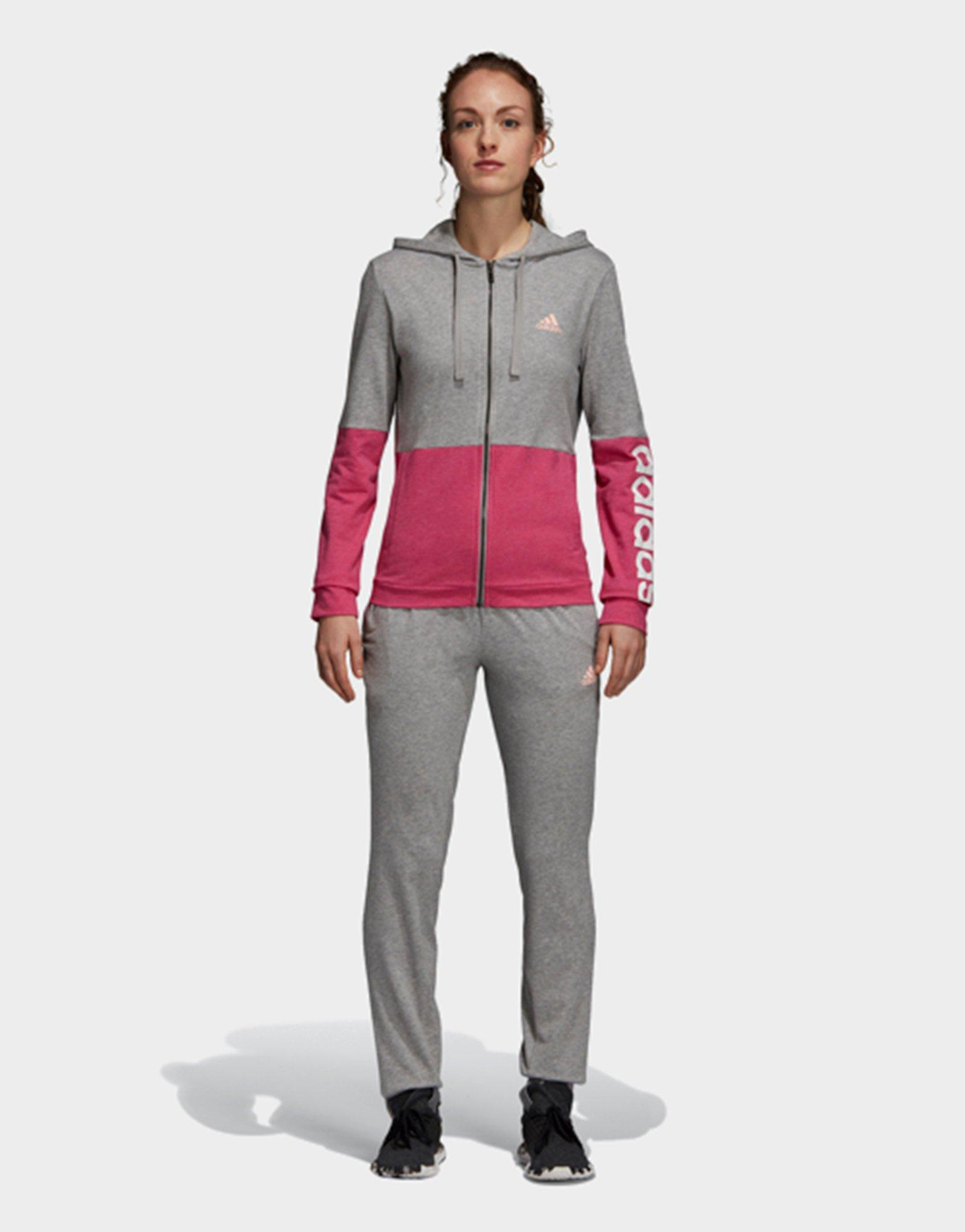 df24c0381e78 Adidas Cotton Marker Track Suit in Gray - Lyst