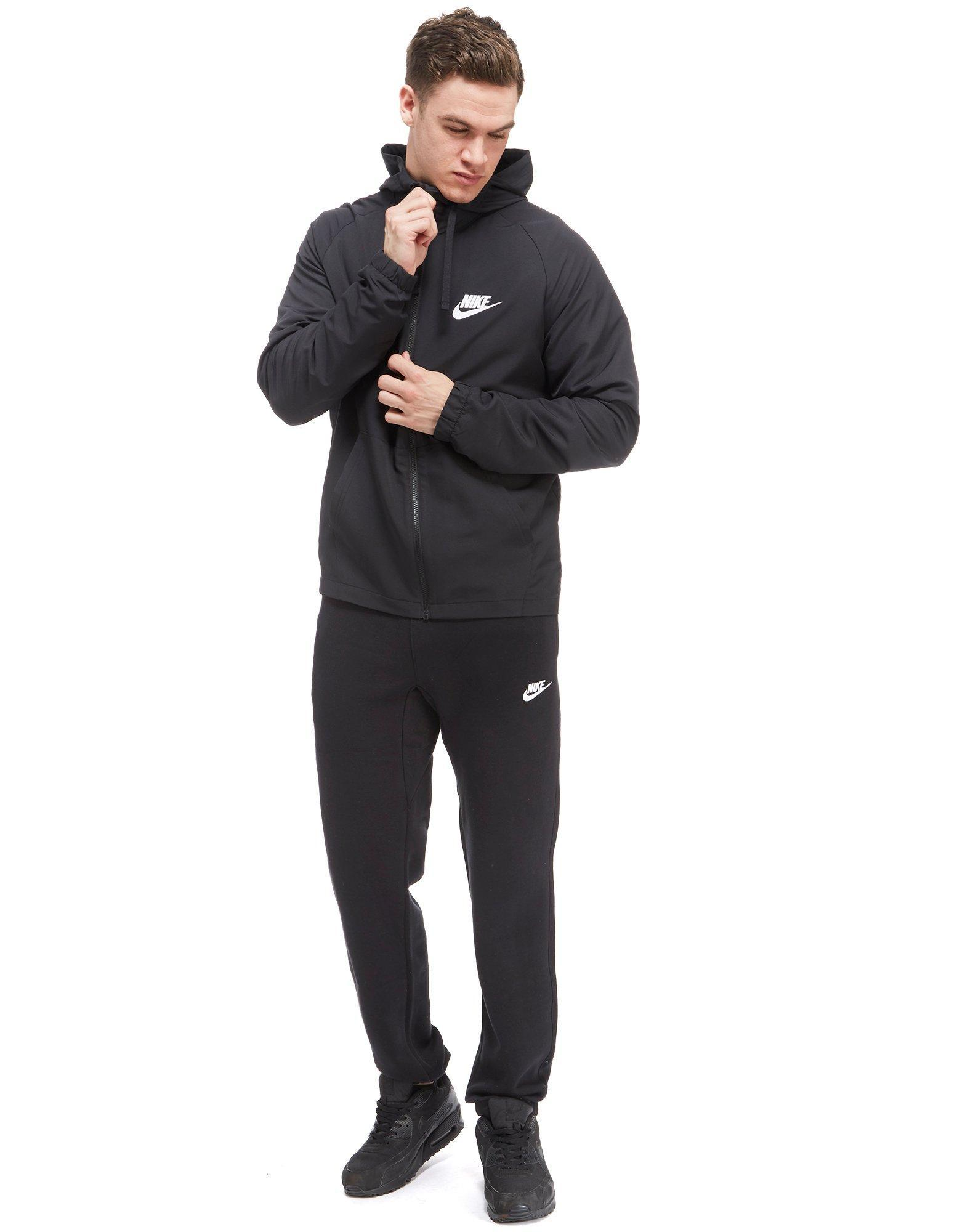 Nike - Black Shut Out 2 Woven Hoody for Men - Lyst. View Fullscreen