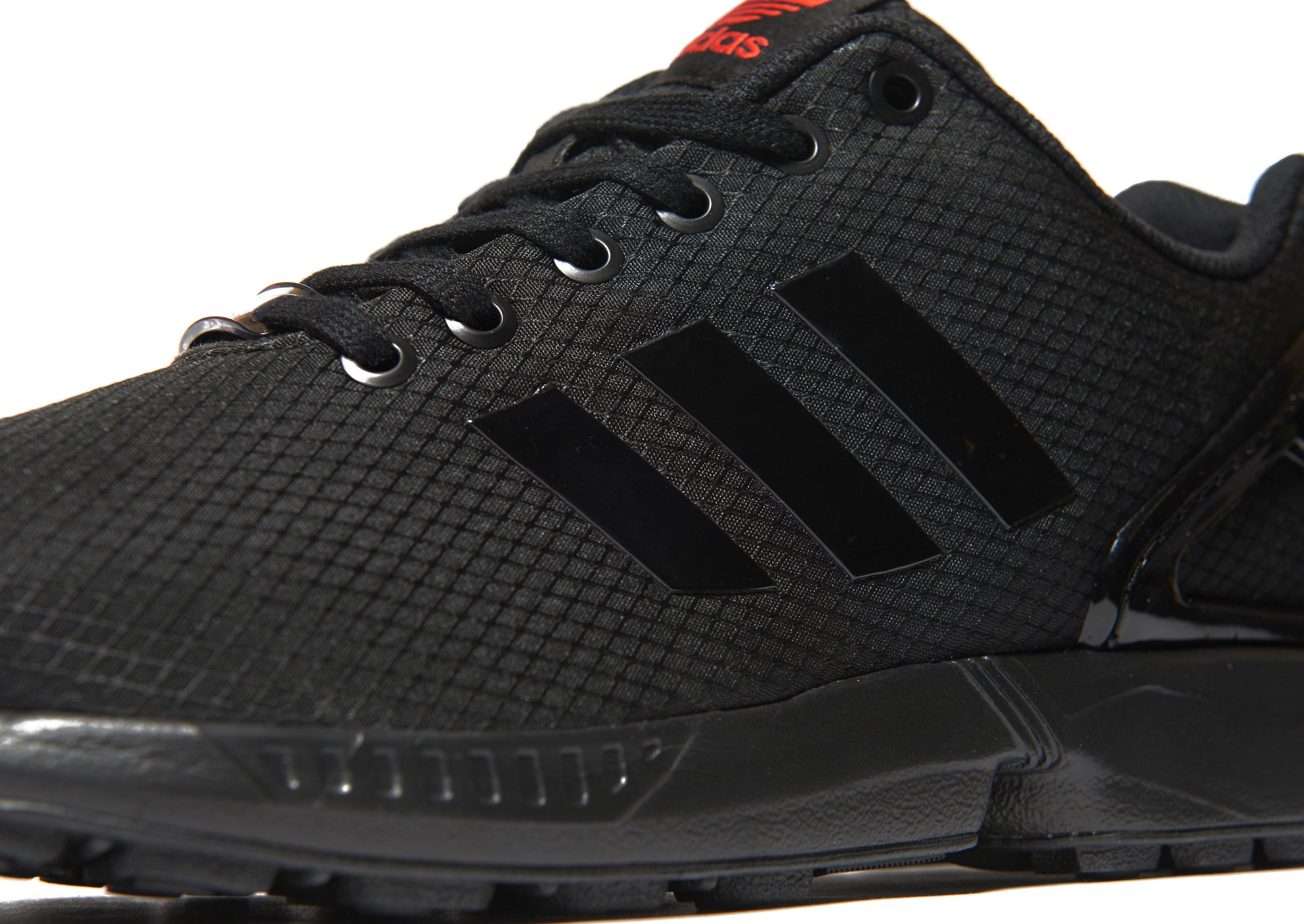 58c4cb9d8 Lyst - adidas Originals Zx Flux Ripstop in Black for Men