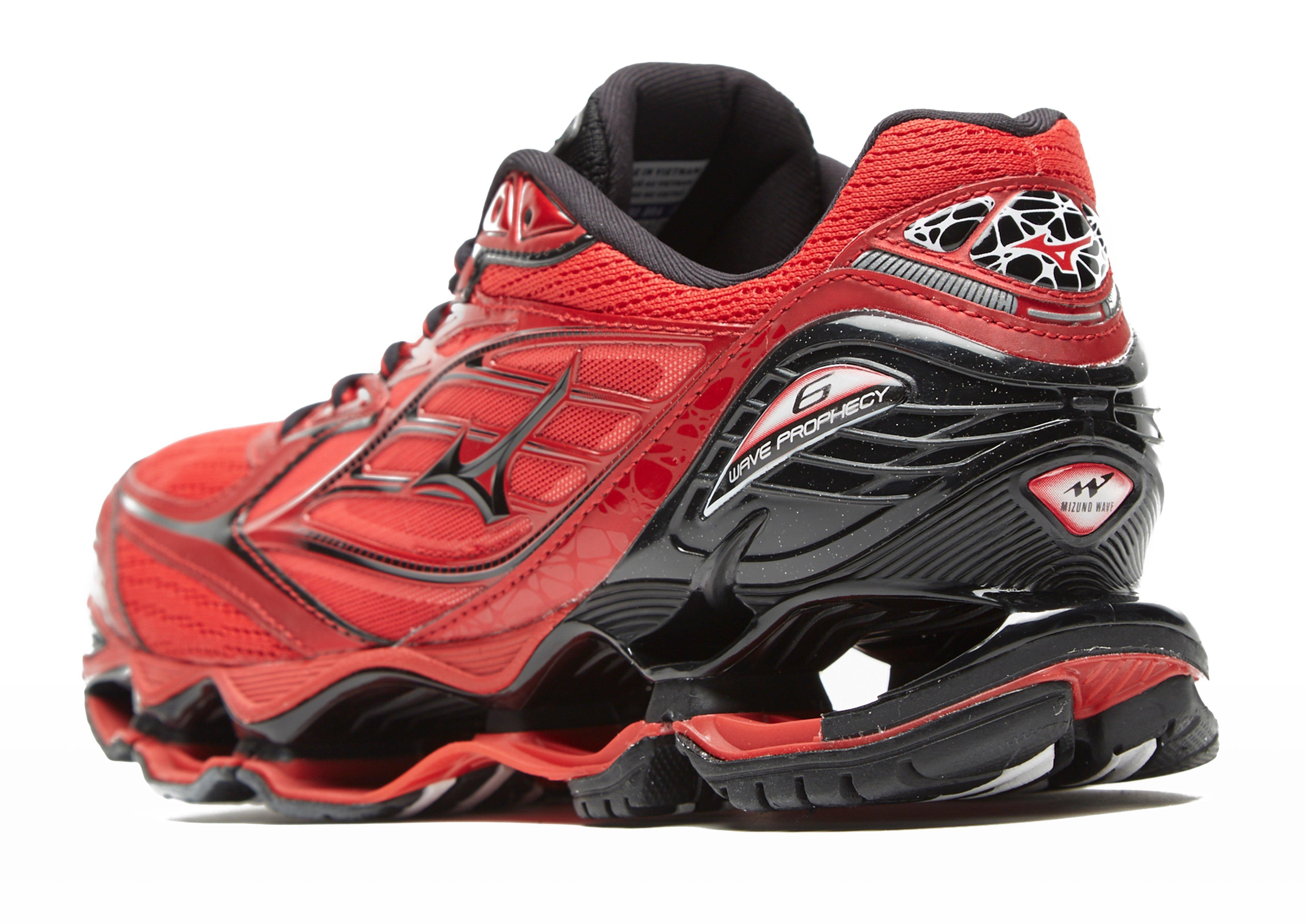 new style f6eb1 f649a Mizuno Wave Prophecy 6 in Red for Men - Lyst