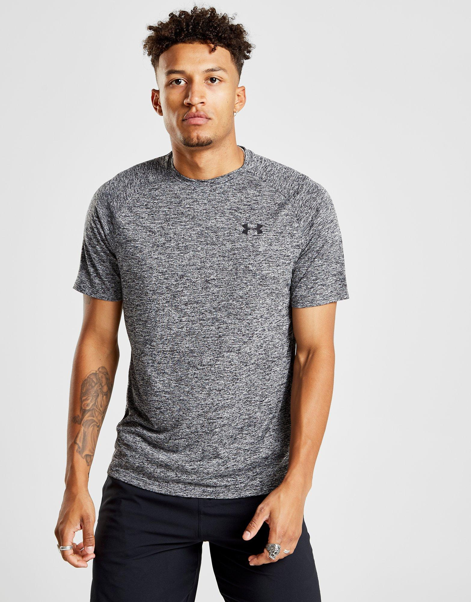 0d952b50d732f Under Armour Tech T-shirt in Gray for Men - Lyst