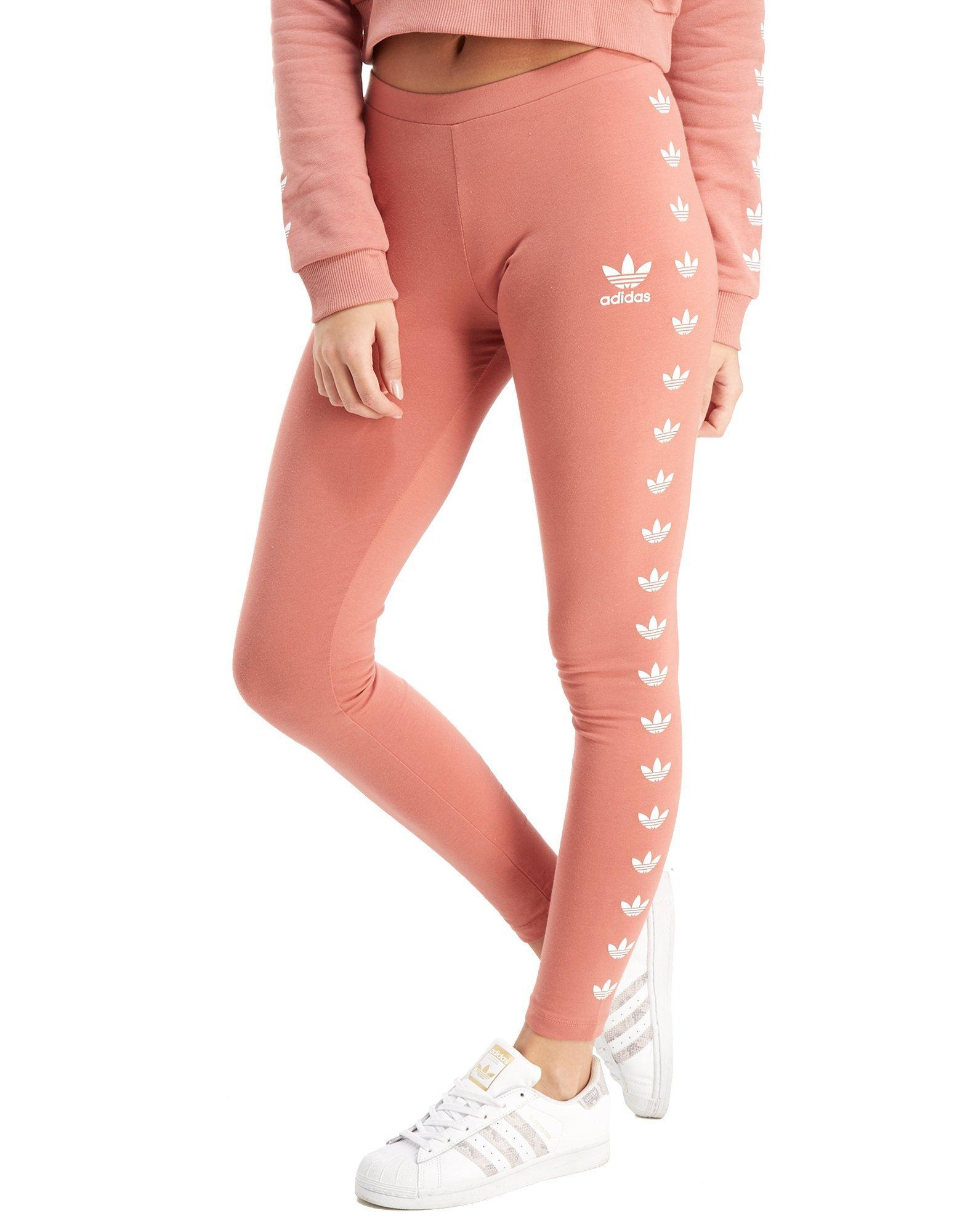 e83518a49dd17 adidas Originals Leggings in Pink - Lyst