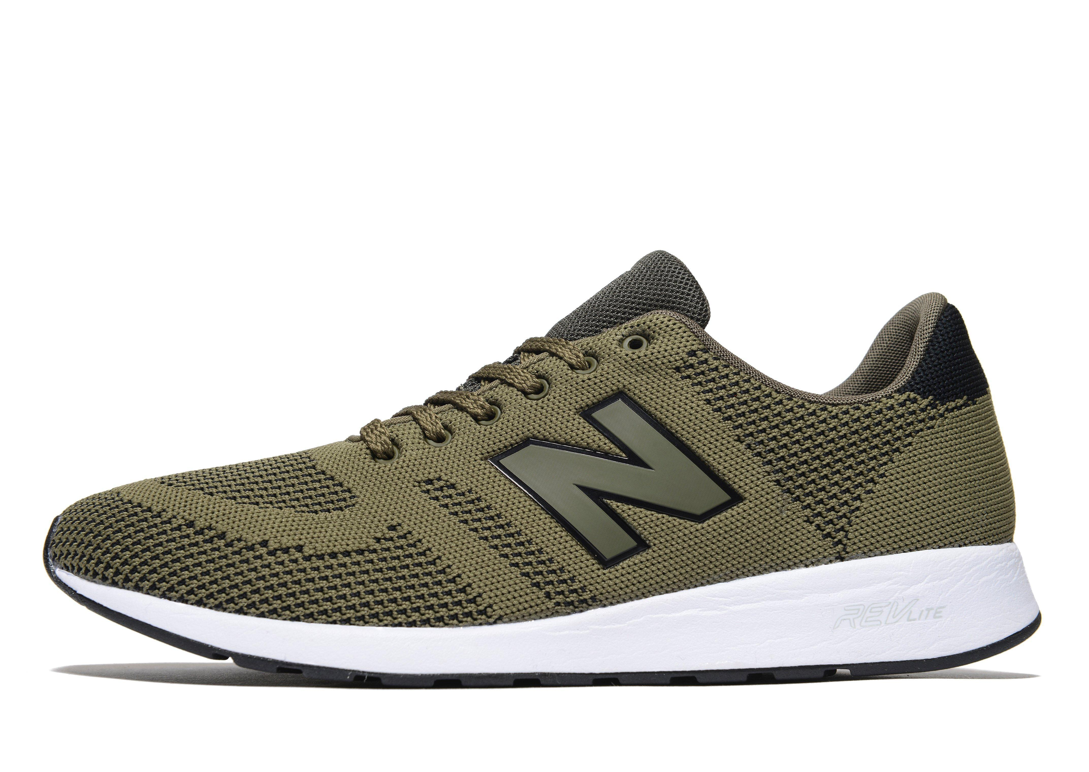 new balance 420 knit in green for men lyst. Black Bedroom Furniture Sets. Home Design Ideas