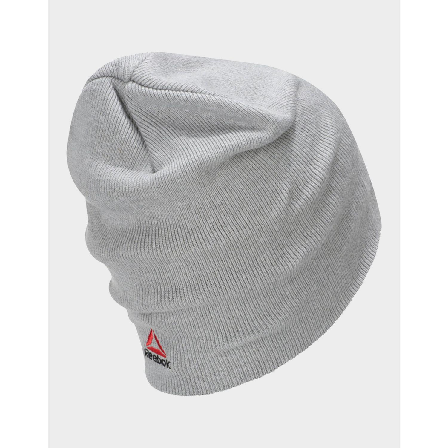 8fa786c768a Lyst - Reebok Ufc Beanie in Gray for Men