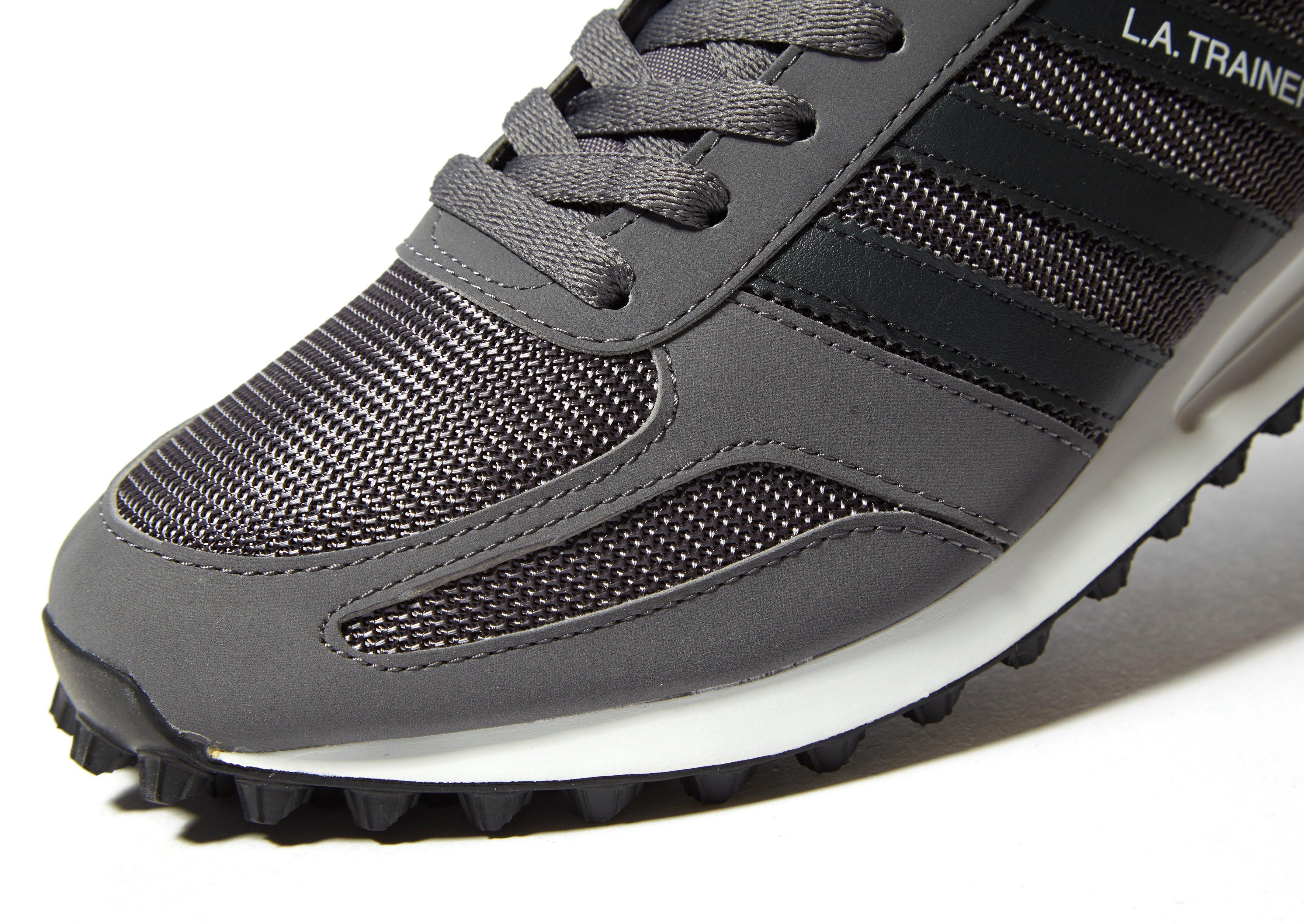 Lyst adidas Originals LA Trainer en gris para hombres salvar 8%