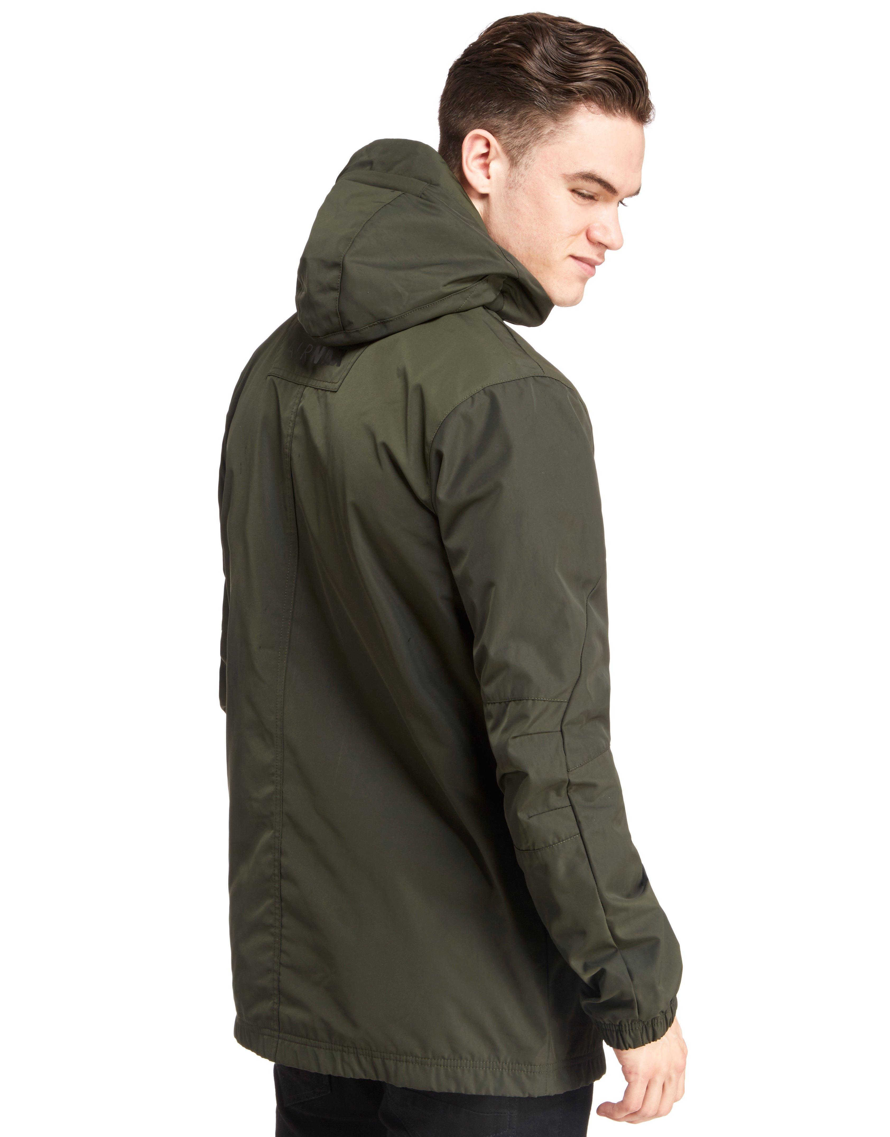 lyst nike air max half zip chevron jacket for men. Black Bedroom Furniture Sets. Home Design Ideas