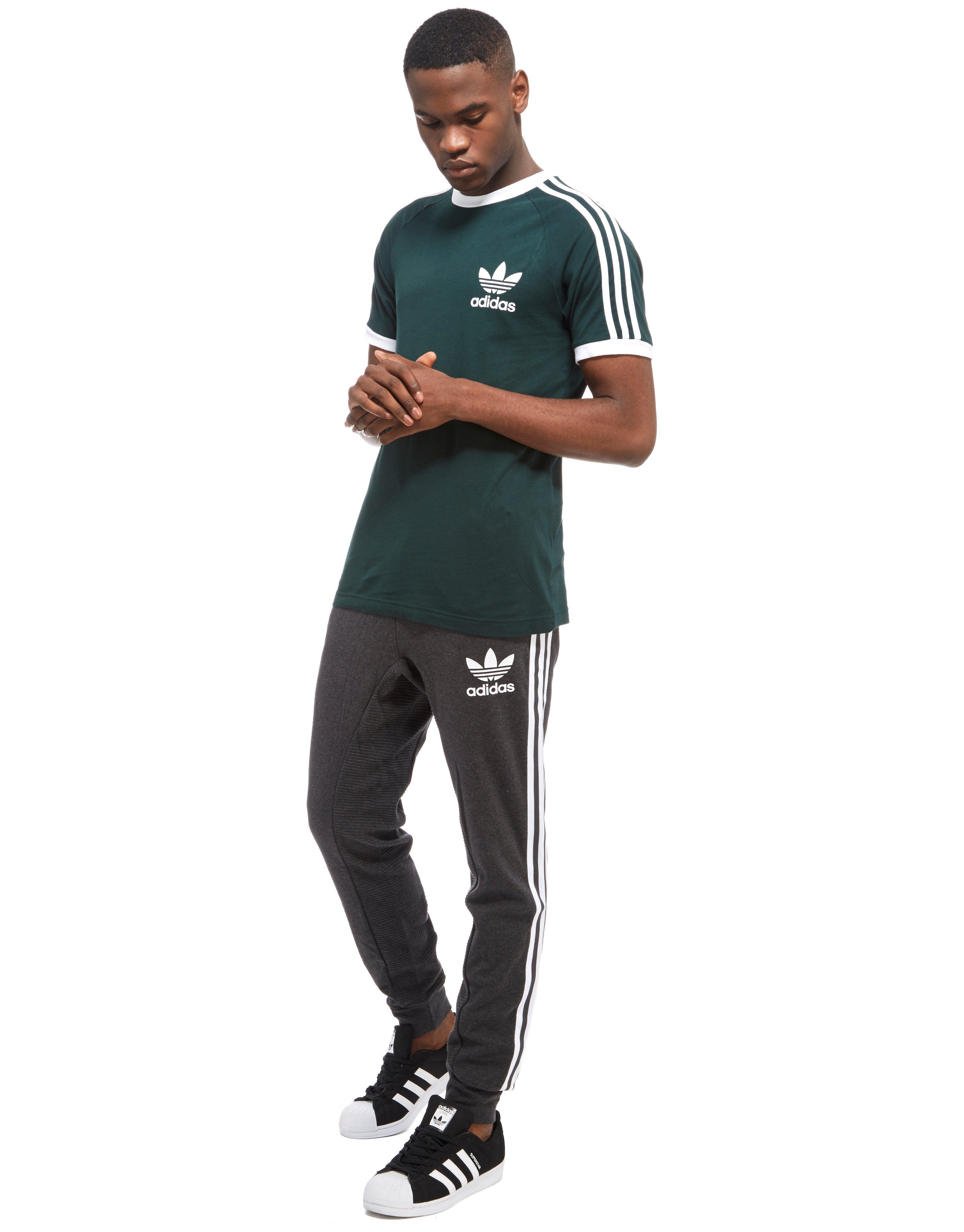 Adidas Originals Gray Curated Sweat Pants for men