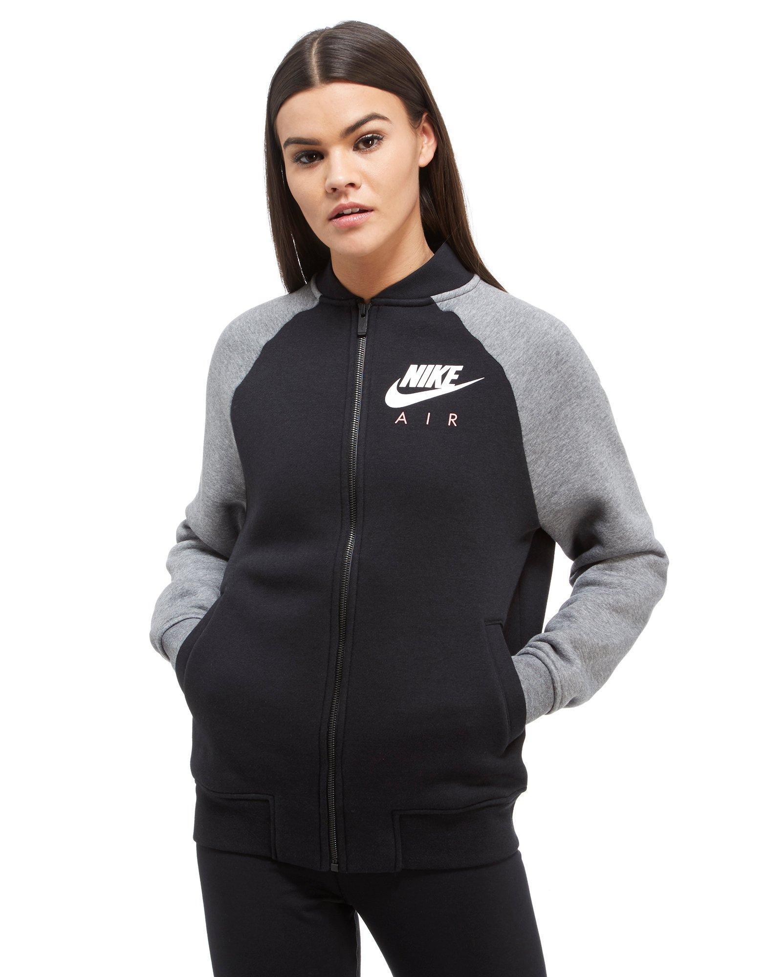 Nike Air Bomber Jacket In Black Lyst