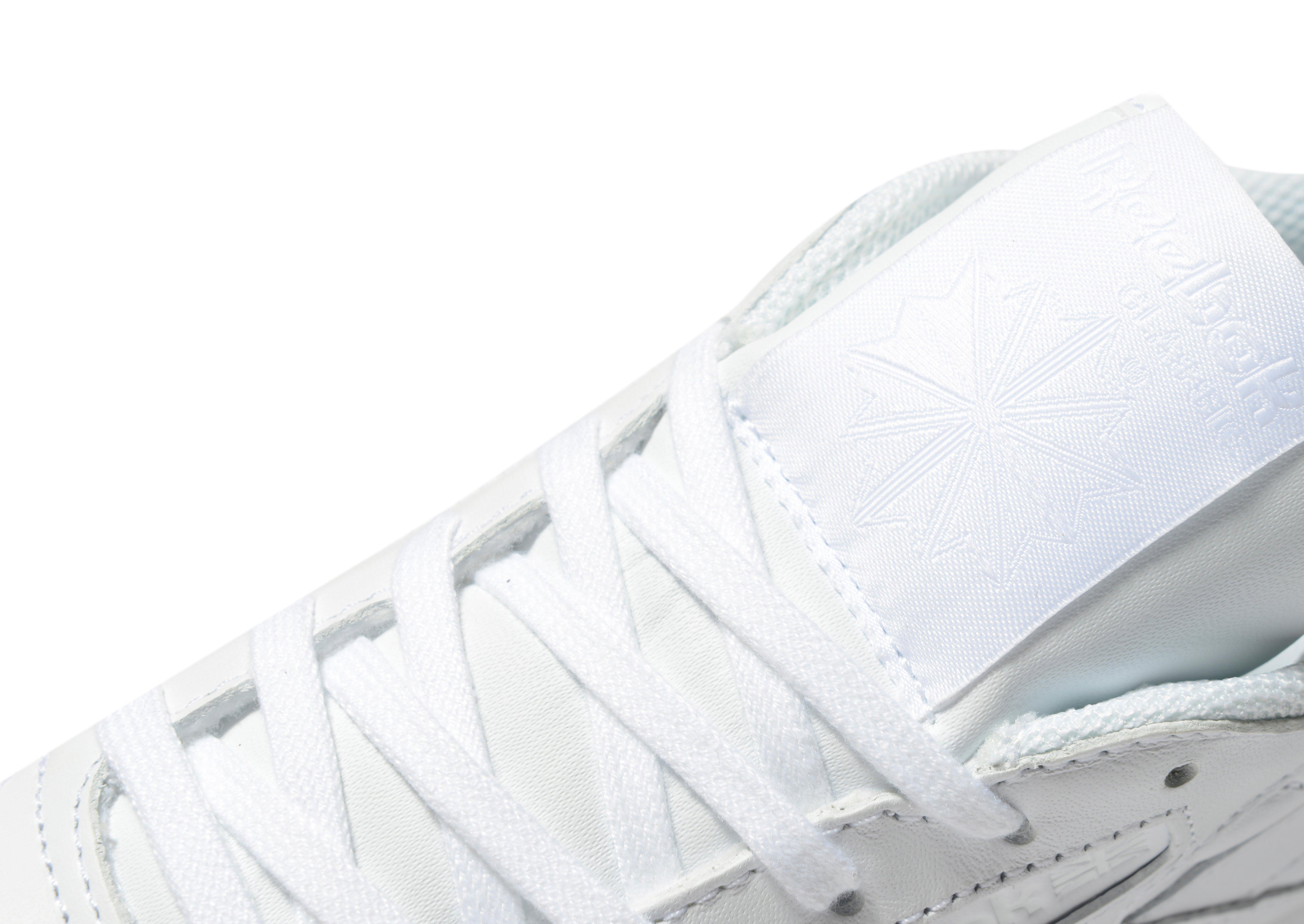 lyst reebok classic leather glitter in white. Black Bedroom Furniture Sets. Home Design Ideas