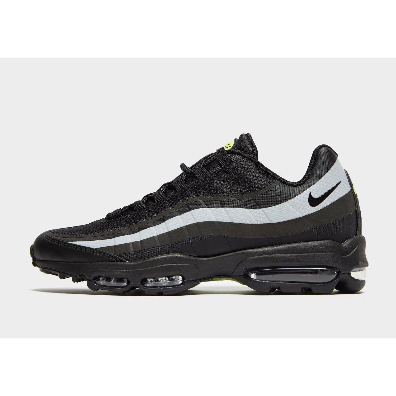 100% authentic c3da9 016f4 Nike Air Max 95 Ultra Se in Black for Men - Lyst