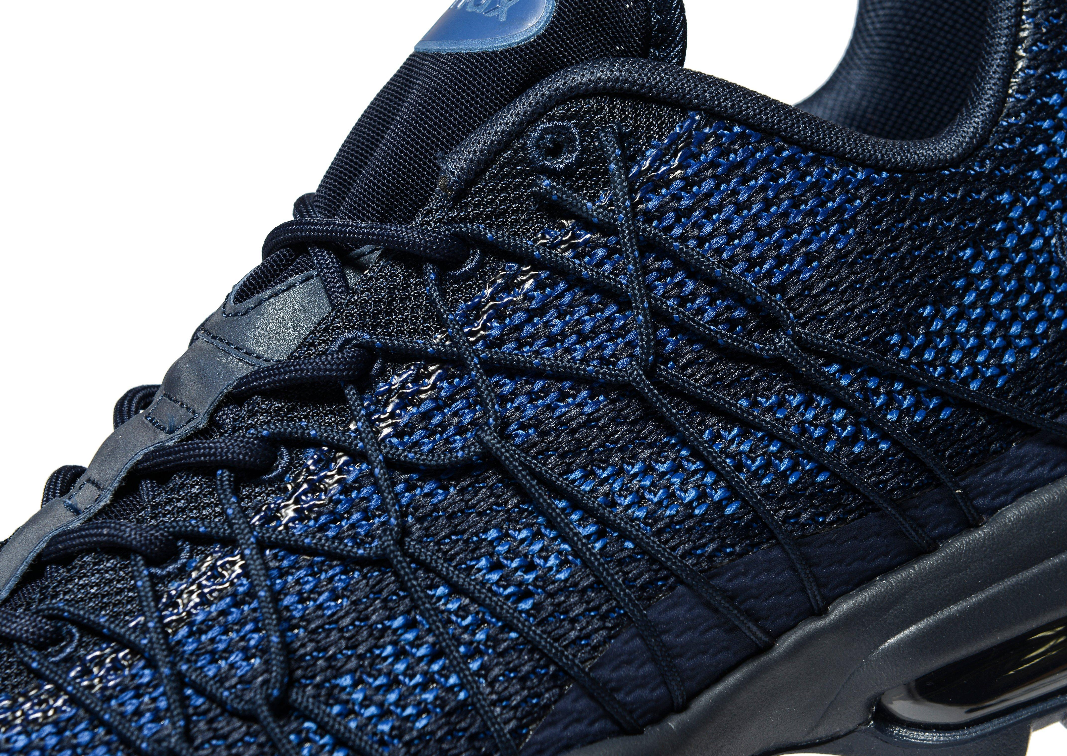 the latest 6873d 96006 ... discount lyst nike air max 95 ultra jacquard in blue for men 6a130 a5601