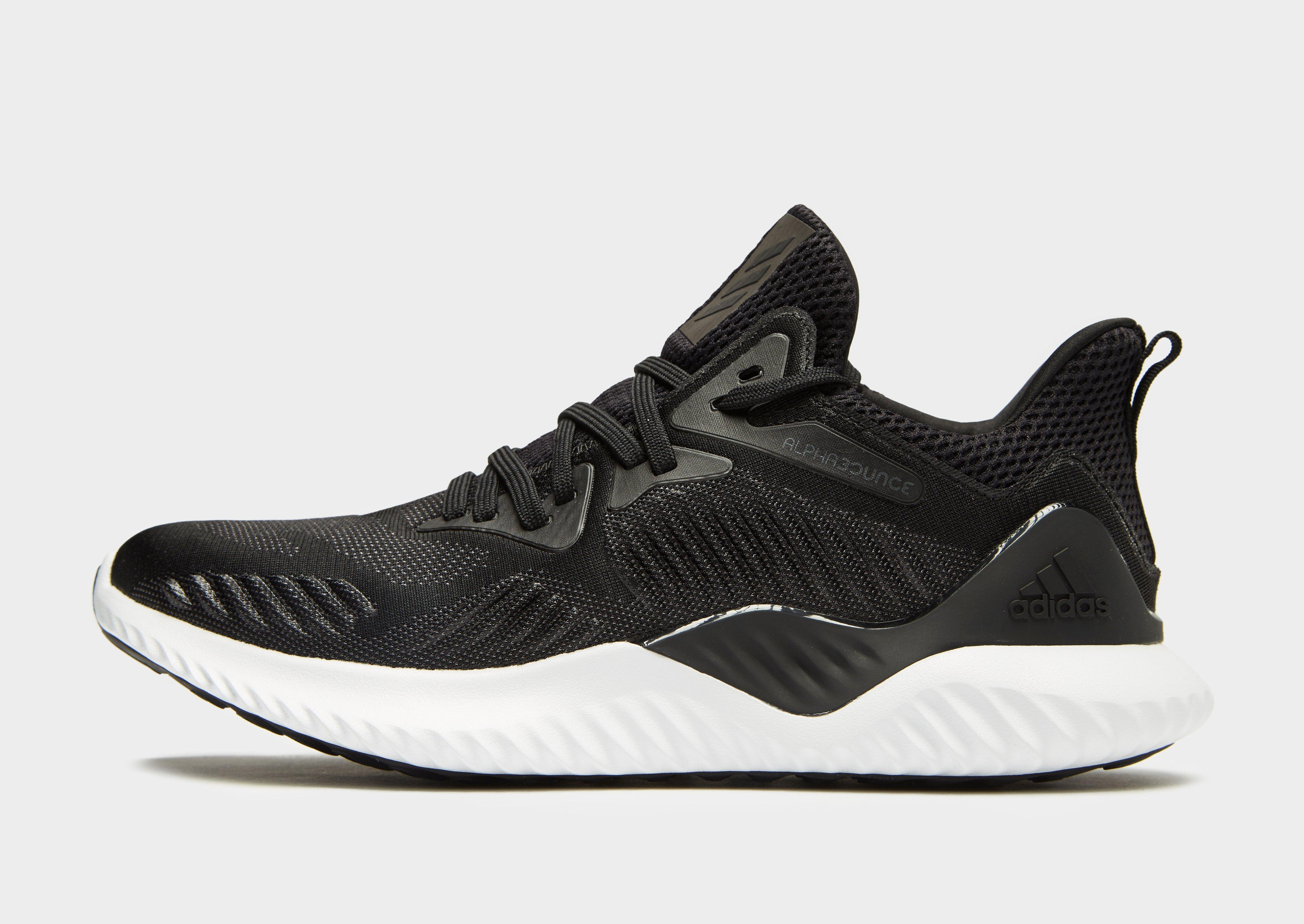 official photos 658ff c144a adidas Alpha Bounce Beyond in Black for Men - Lyst