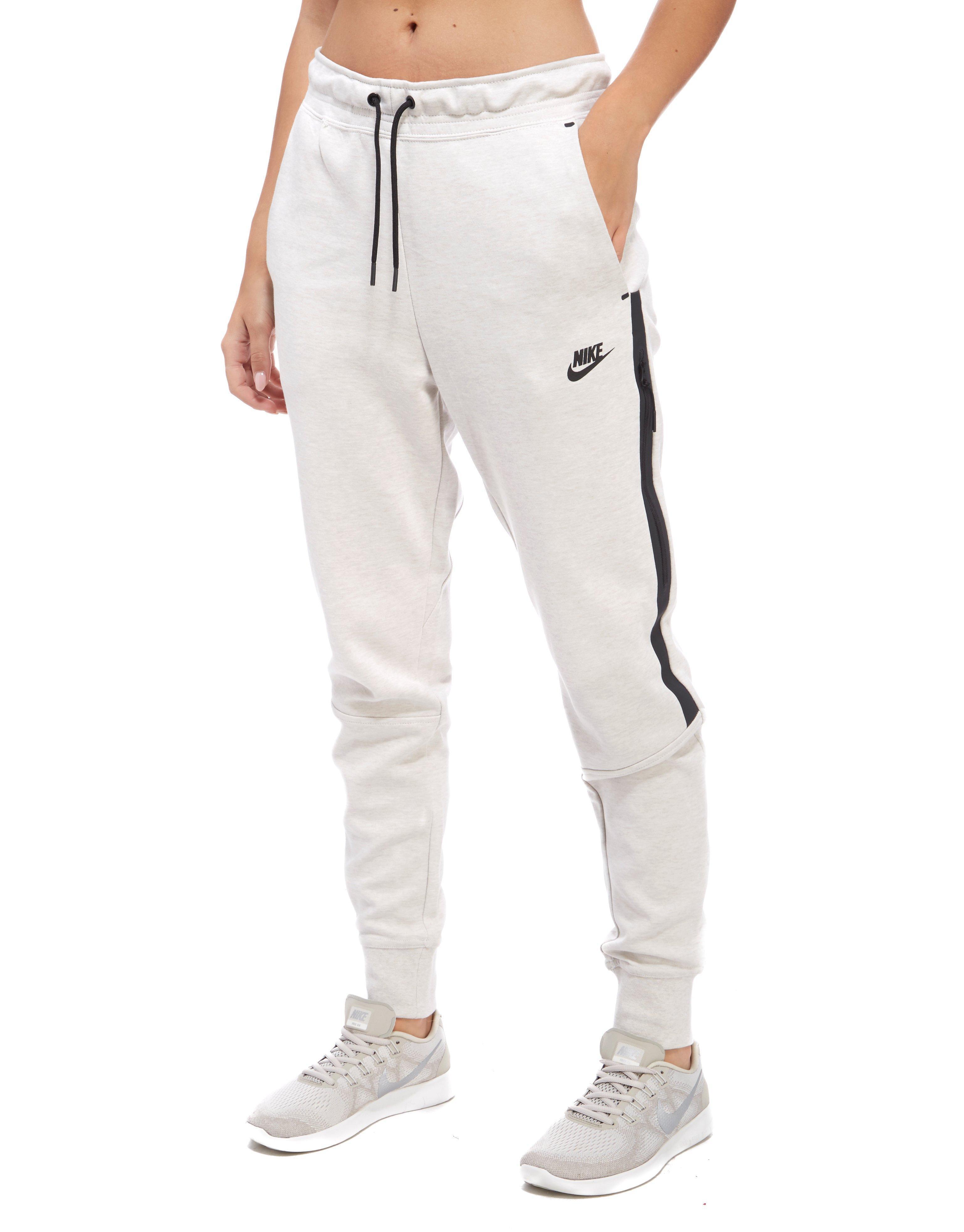 Lyst - Nike Tech Fleece Pants in White 47dcf9cfa2d5