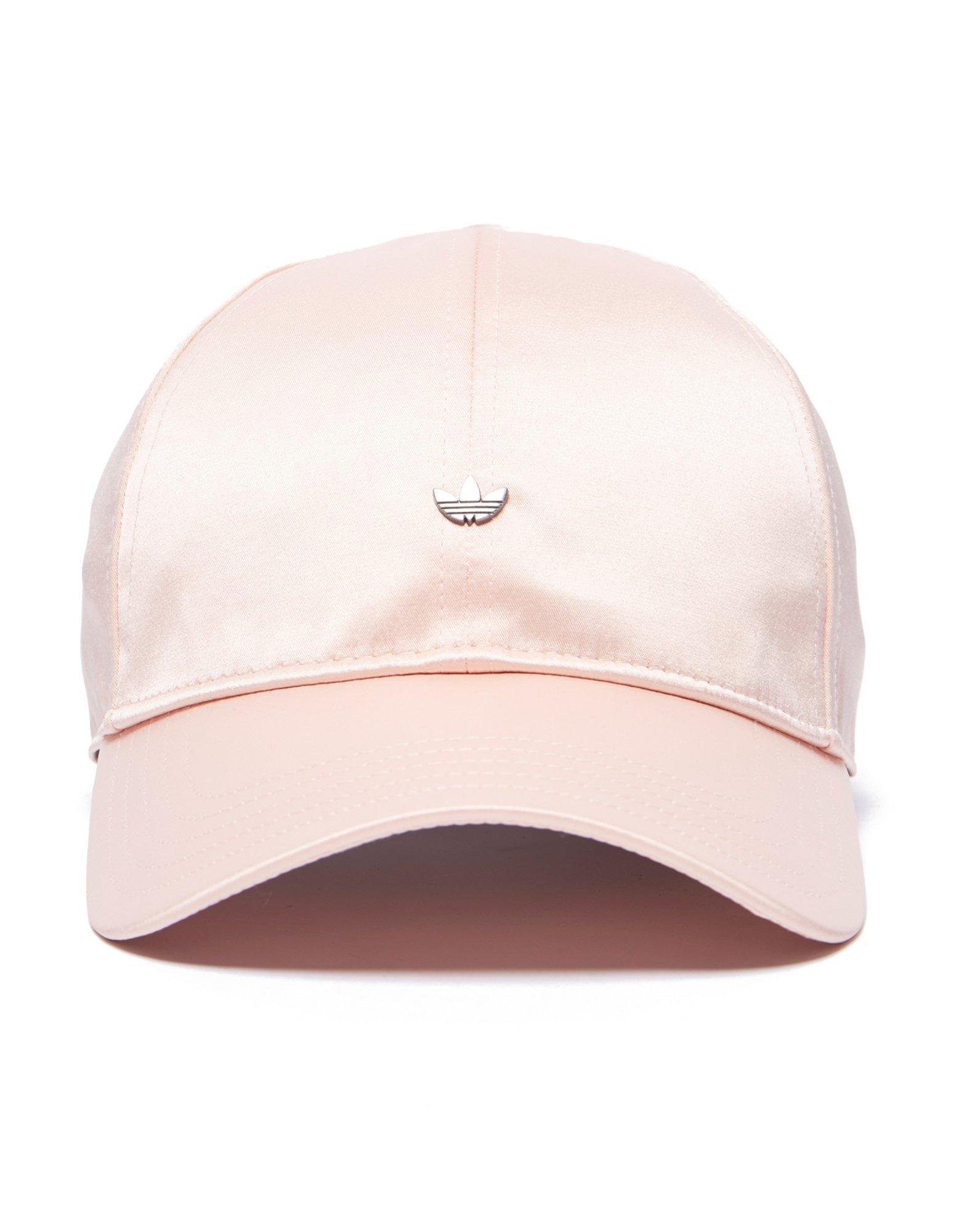 Lyst - adidas Originals Mini Metal Trefoil Cap in Pink 06c03d567d8d