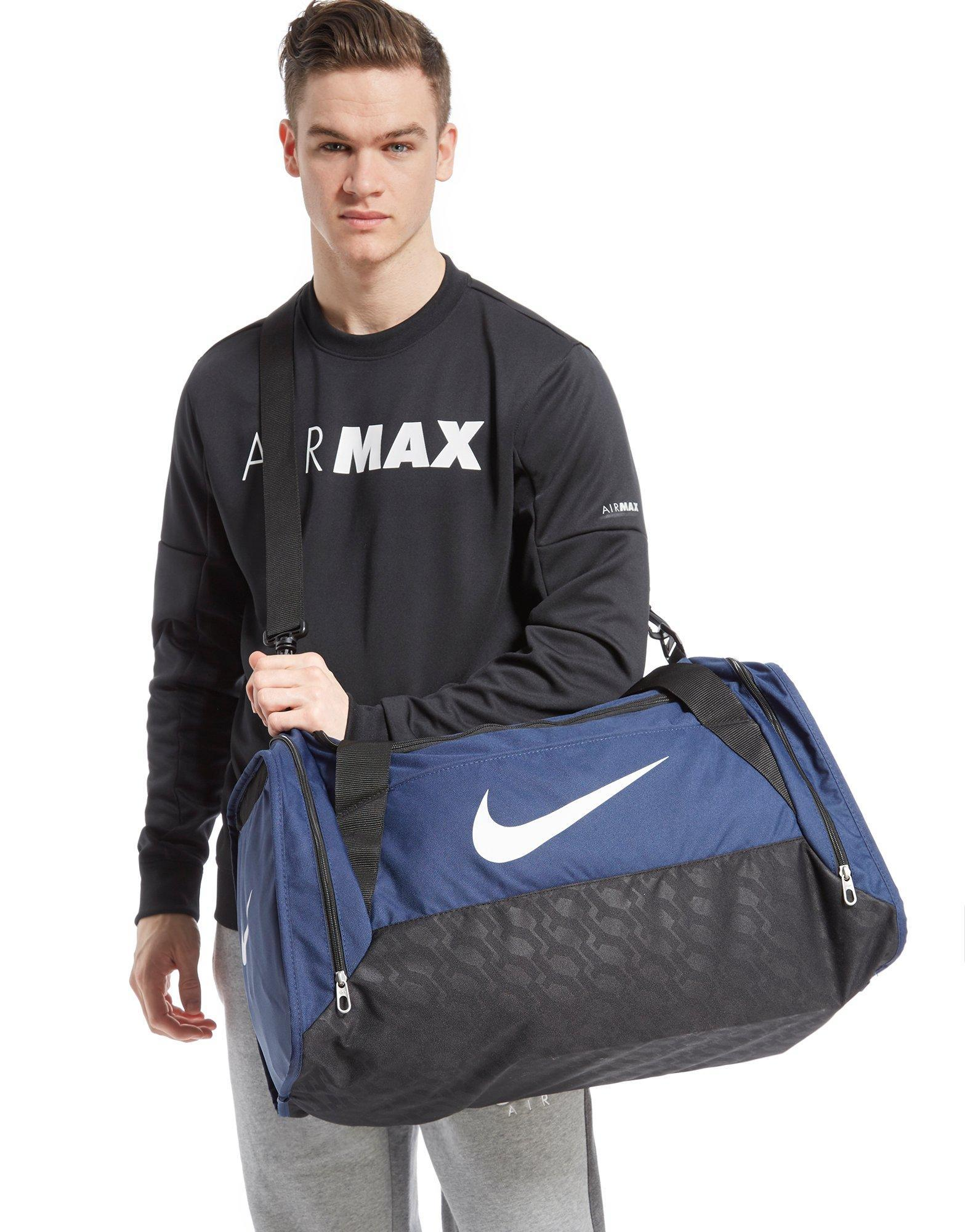 a35d5b664595 Lyst - Nike Brasilia 6 Medium Duffel Bag in Blue for Men