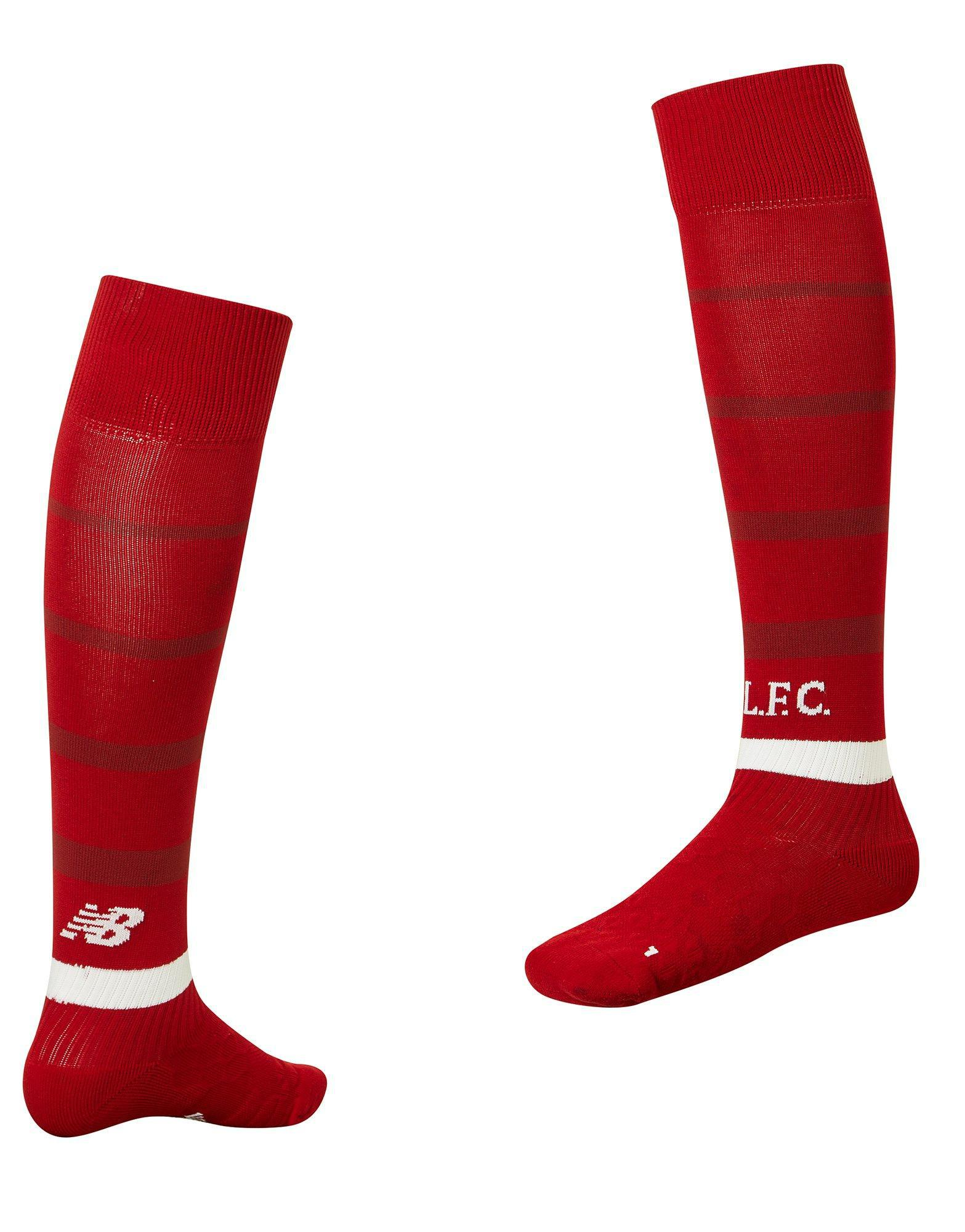 New Balance. Men's Red Liverpool Fc 2018 Home Socks Pre Order