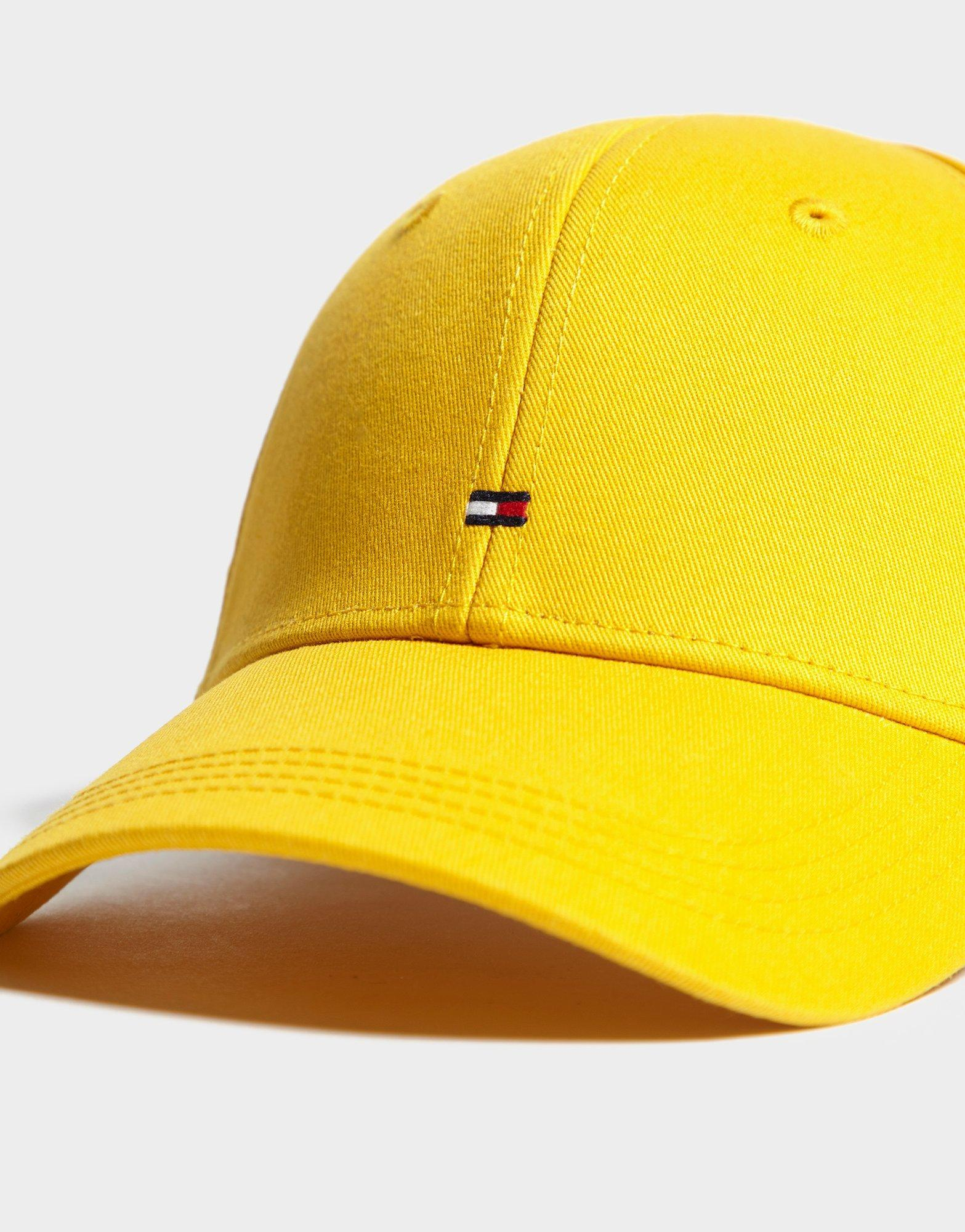 0822ebad27b Lyst - Tommy Hilfiger Classic Baseball Cap in Yellow for Men