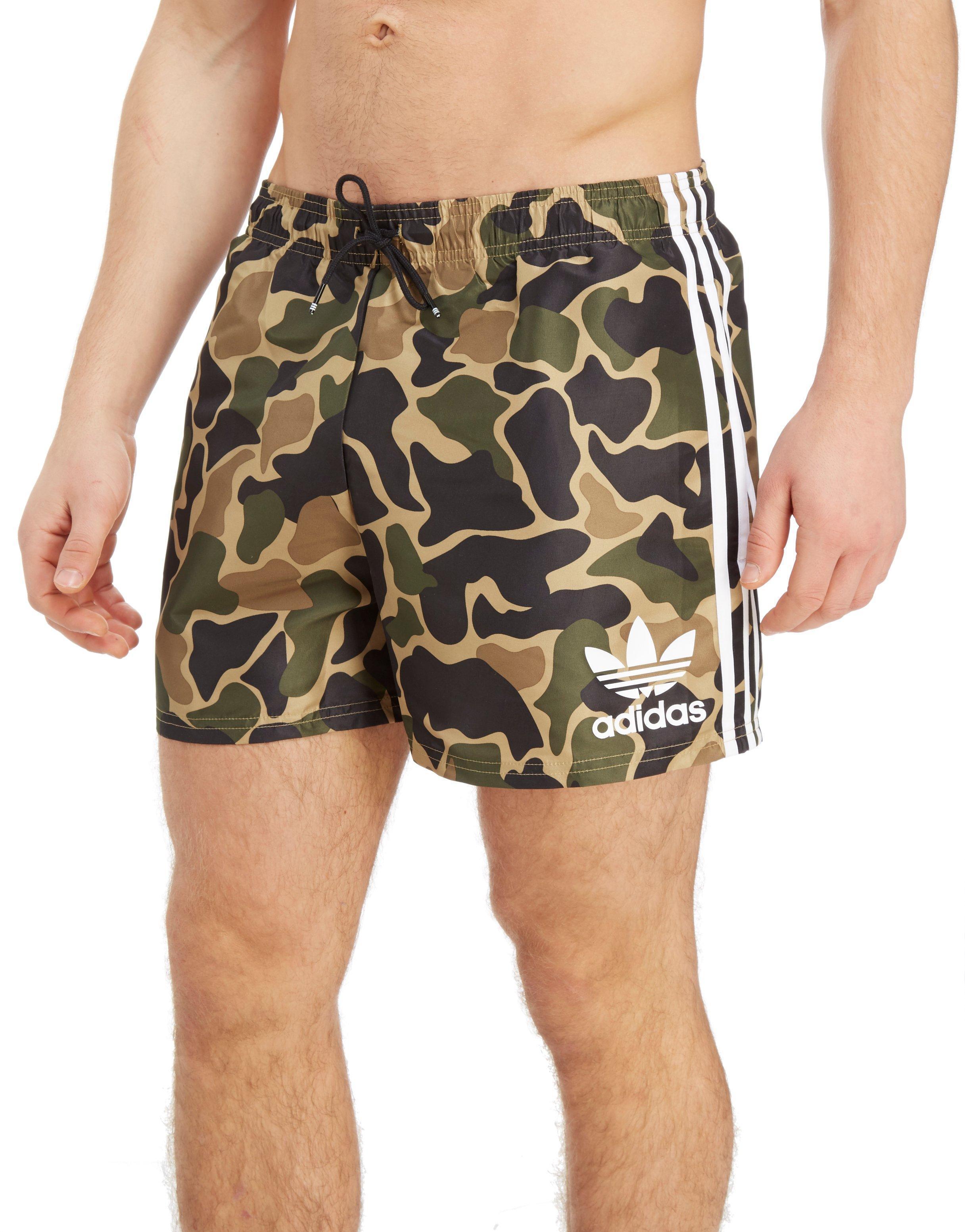 Men Woven Adidas Lyst For Originals Swim Shorts YUq4Awq