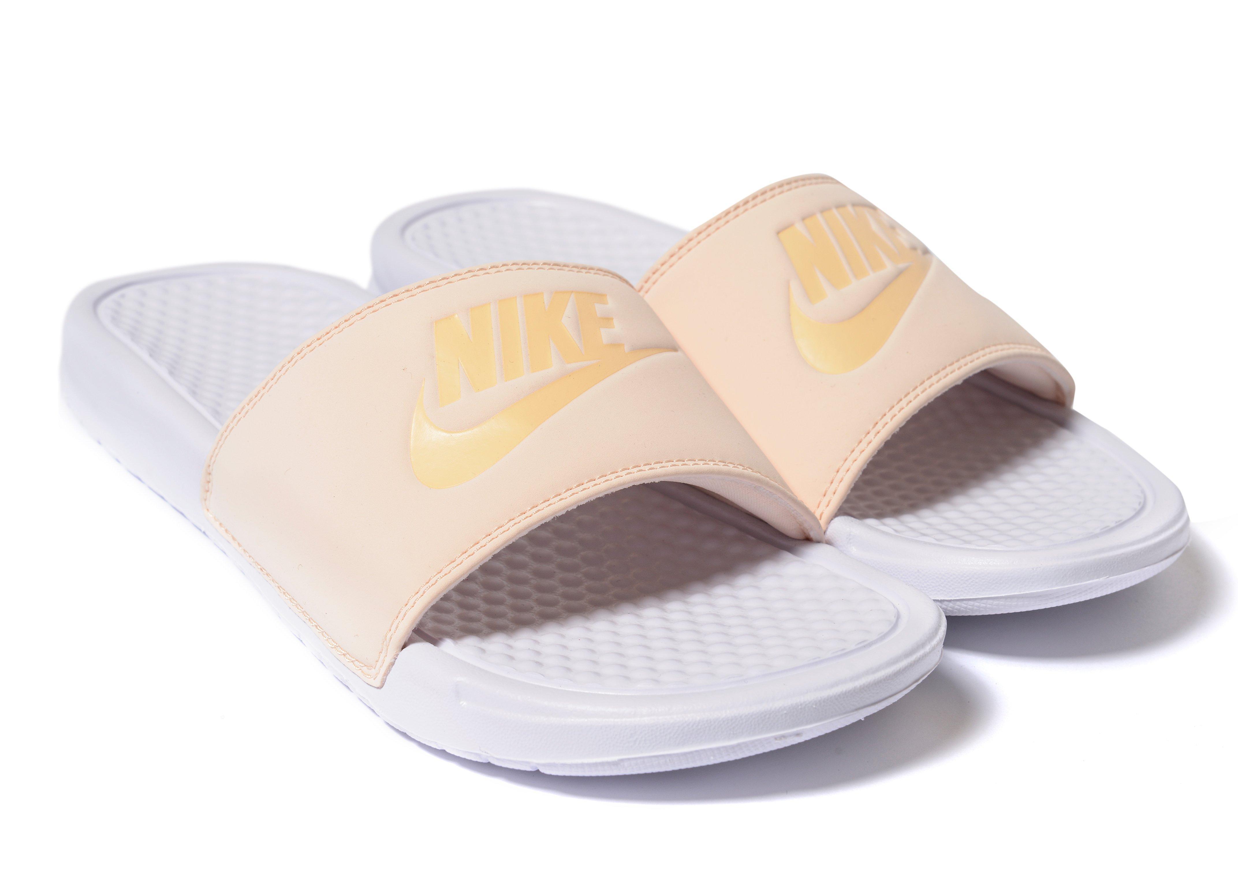 aa48c3c40eca Lyst - Nike Benassi Just Do It Slides in Orange