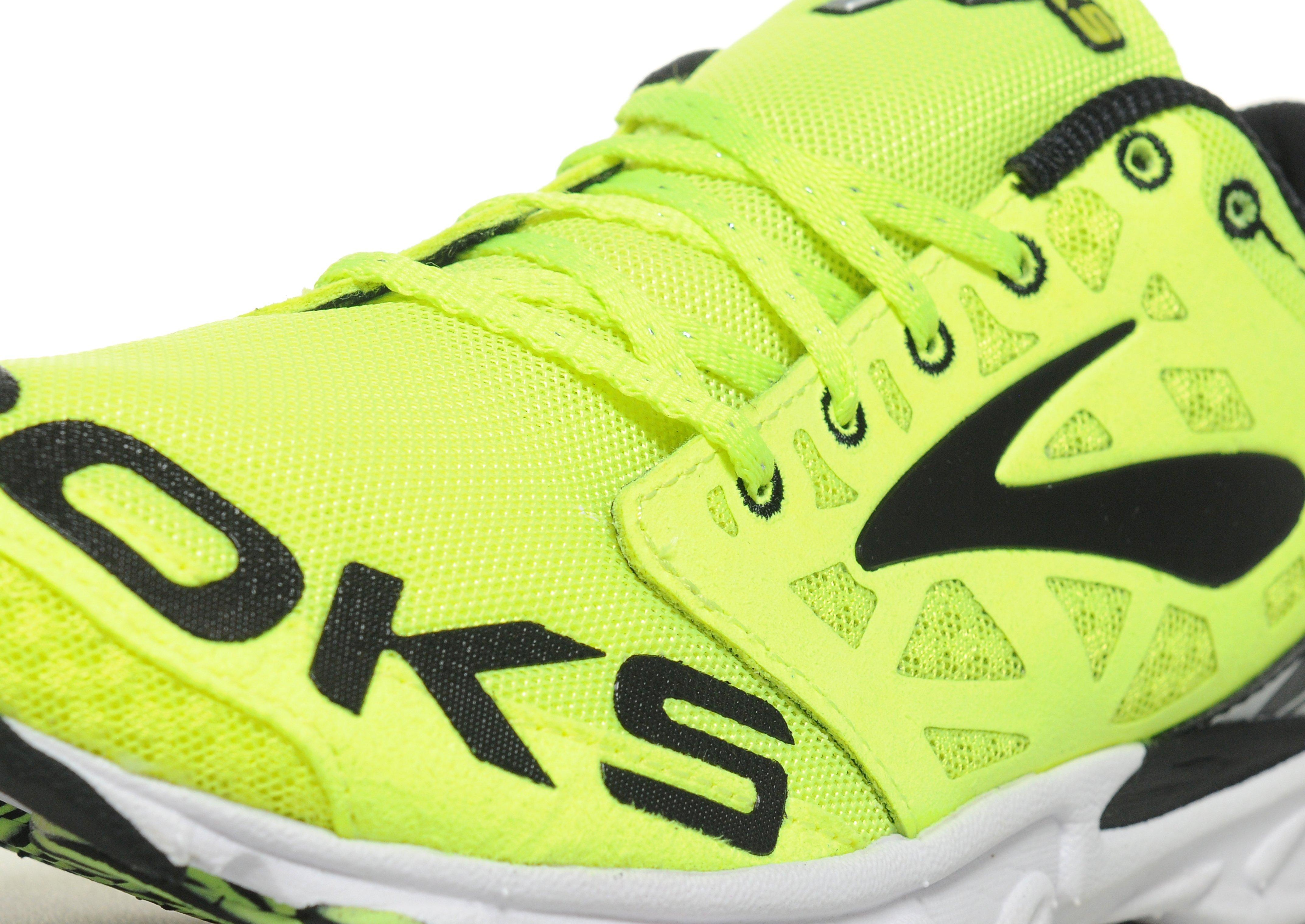 new concept b073d e3d4f Brooks T7 Racer Unisex Running Shoes in Yellow for Men - Lyst