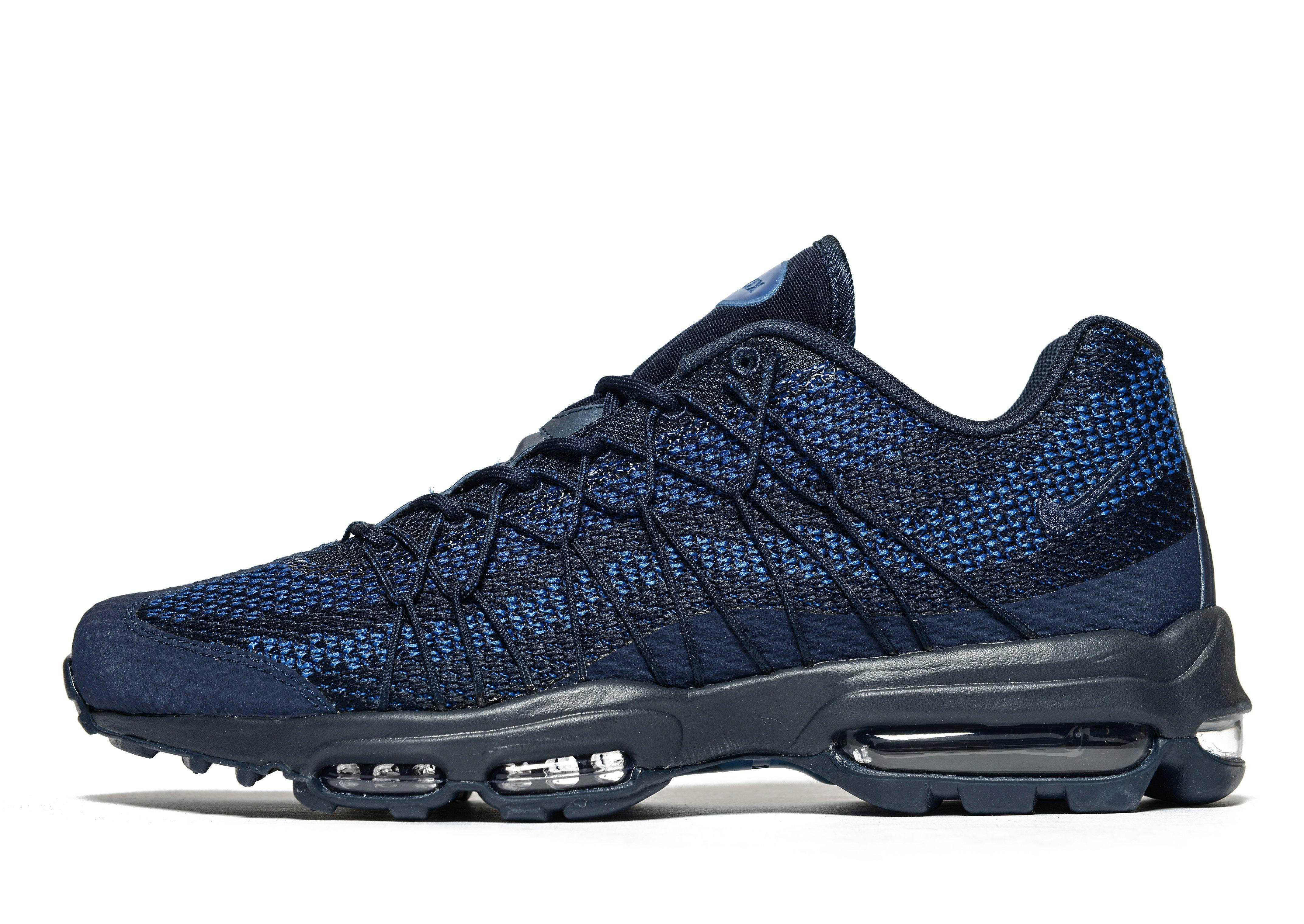 reputable site 0c888 ed0a5 Nike Air Max 95 Ultra Jacquard in Blue for Men - Lyst