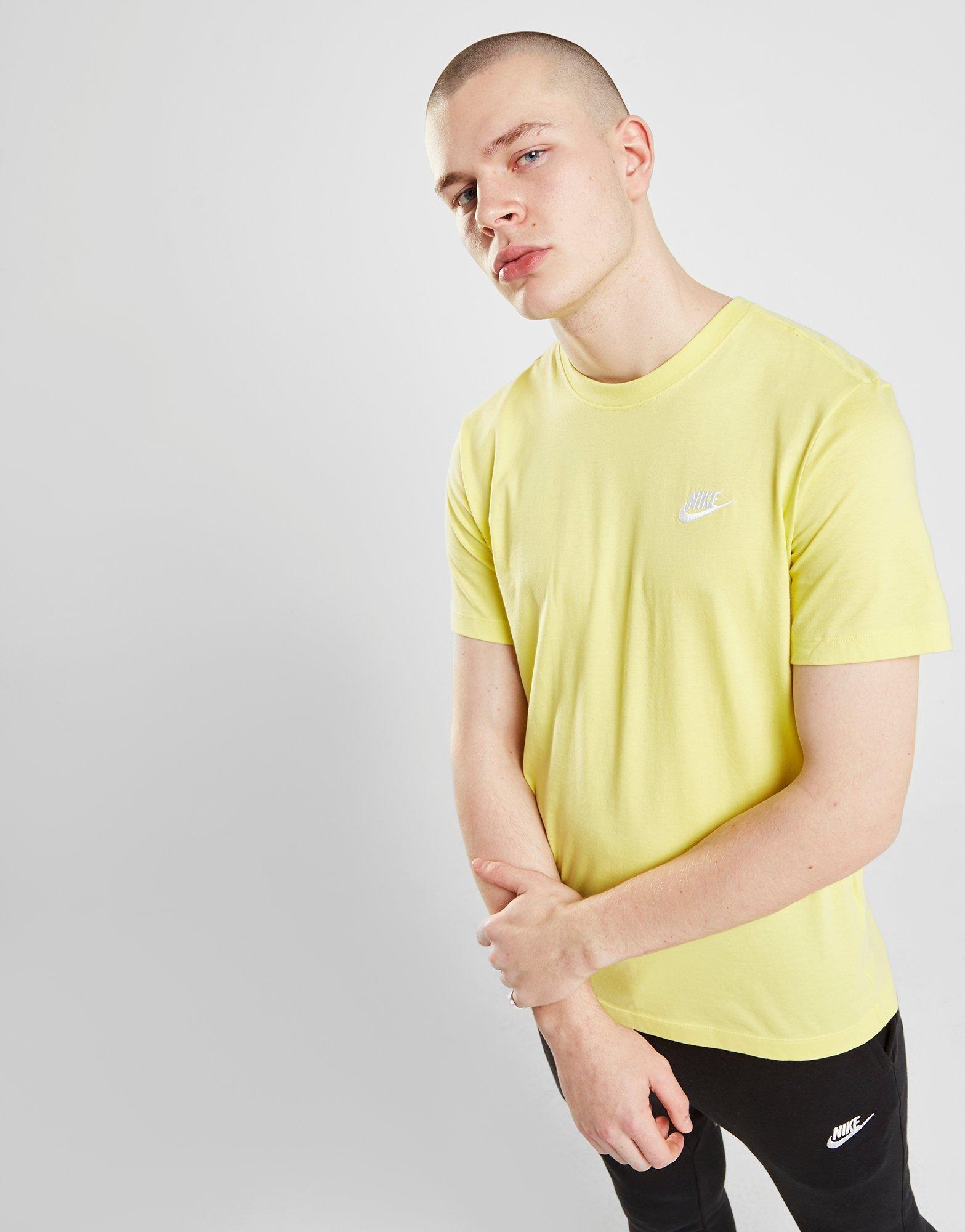 4bc0dc73a Nike - Yellow Core T-shirt for Men - Lyst. View fullscreen